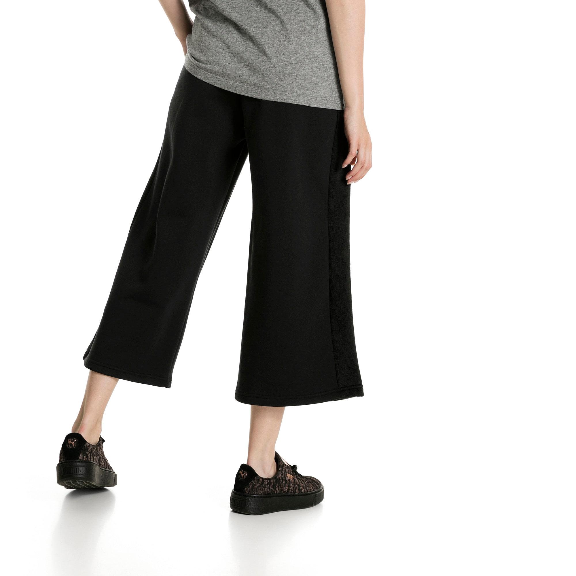 Thumbnail 3 of Classics Women's Winterized Archive Logo T7 Pants, Cotton Black, medium-IND