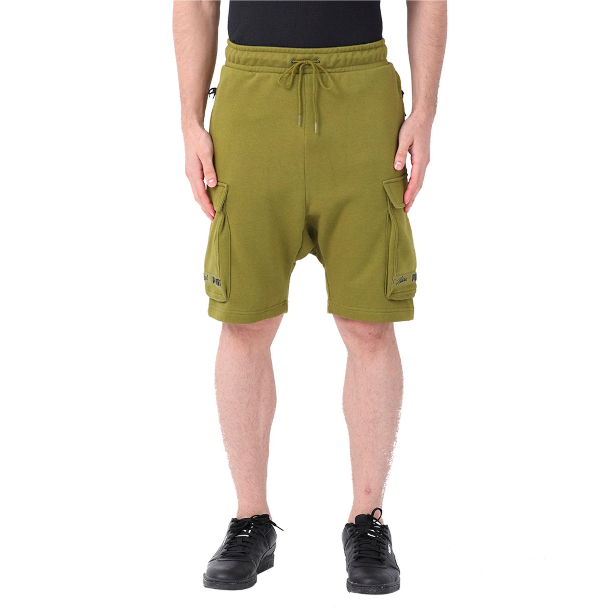 Thumbnail 4 of PUMA x NATUREL Men's Shorts, Avocado, medium-IND