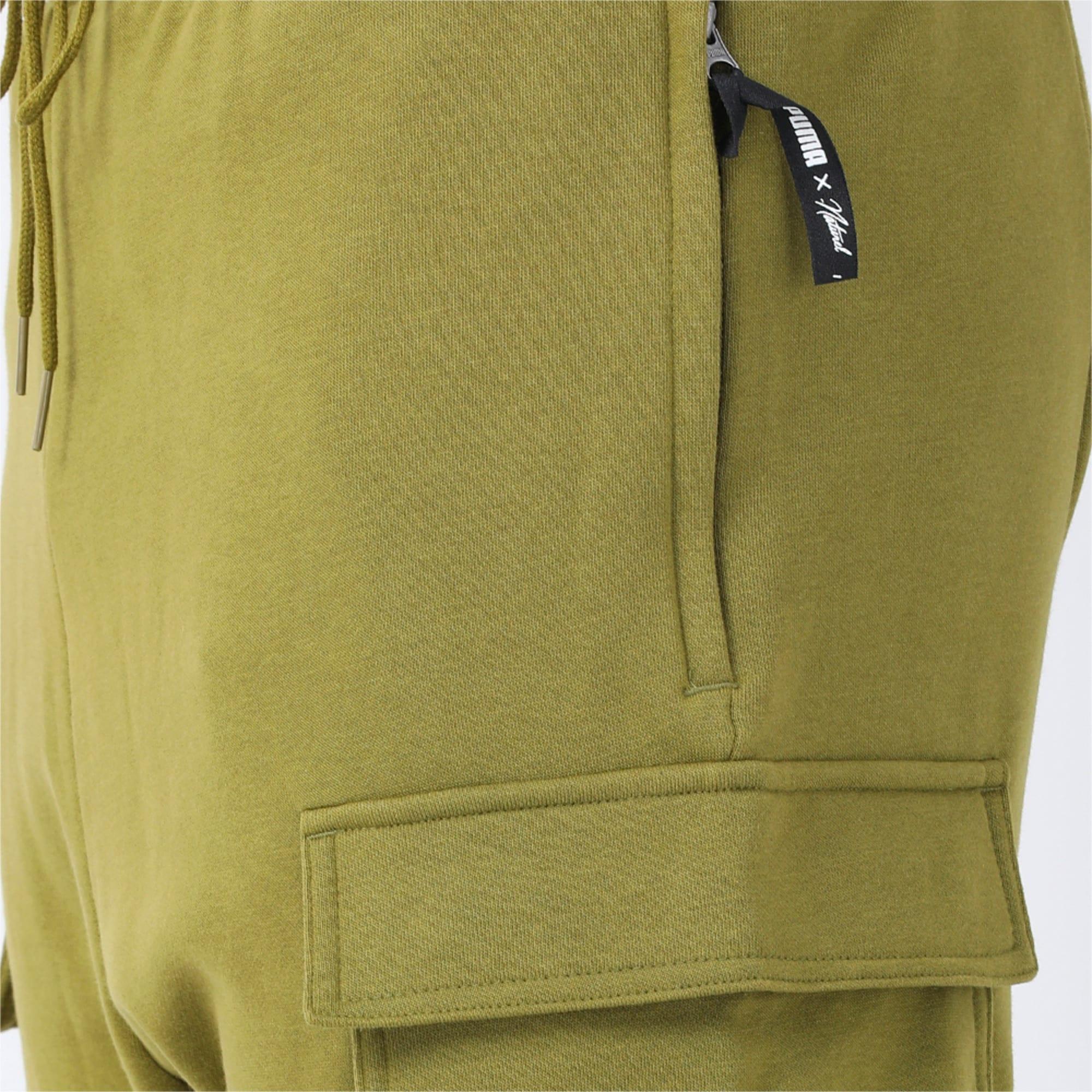 Thumbnail 3 of PUMA x NATUREL Men's Shorts, Avocado, medium-IND