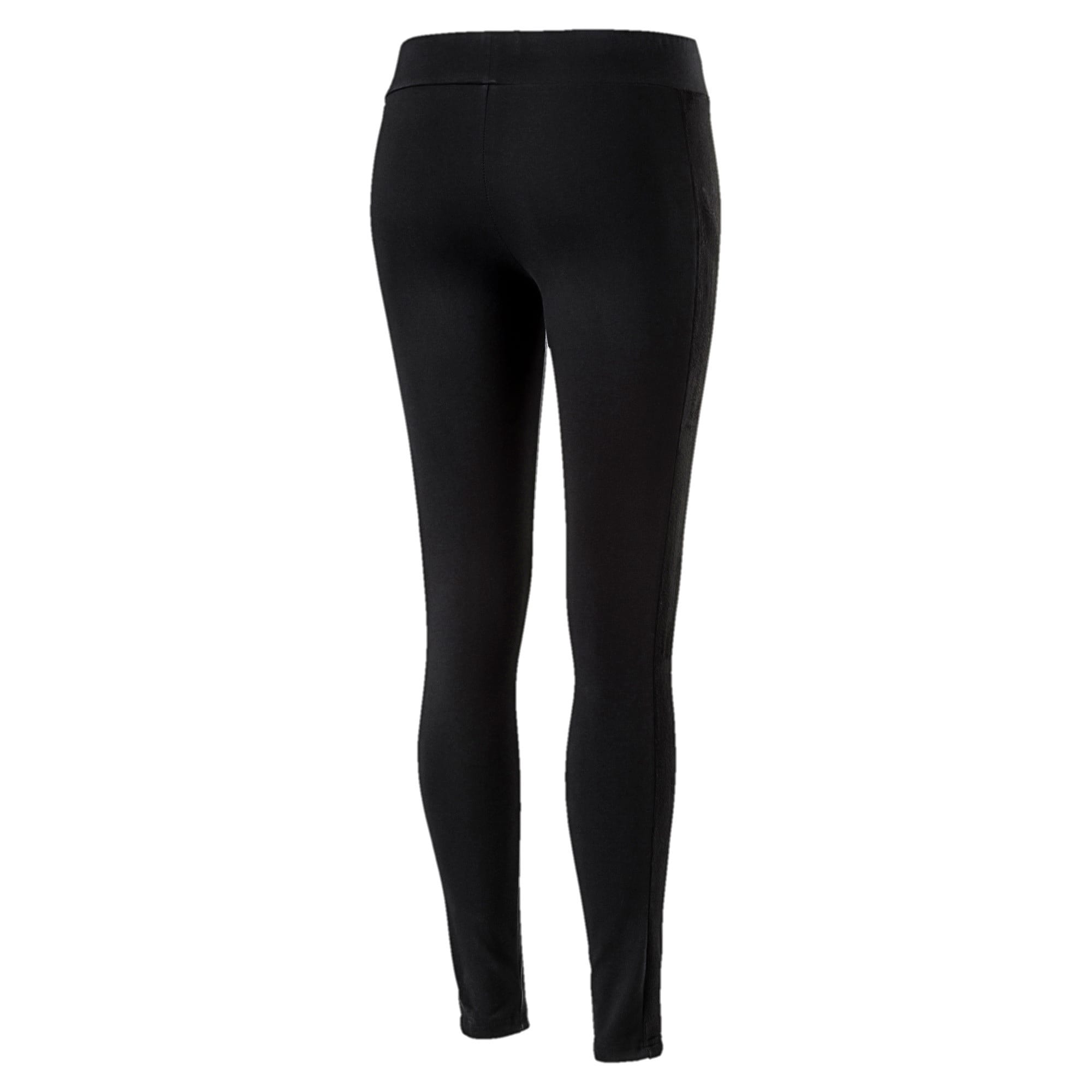 Thumbnail 4 of Classics Women's Winterized ArchiveT7 Leggings, Cotton Black, medium-IND