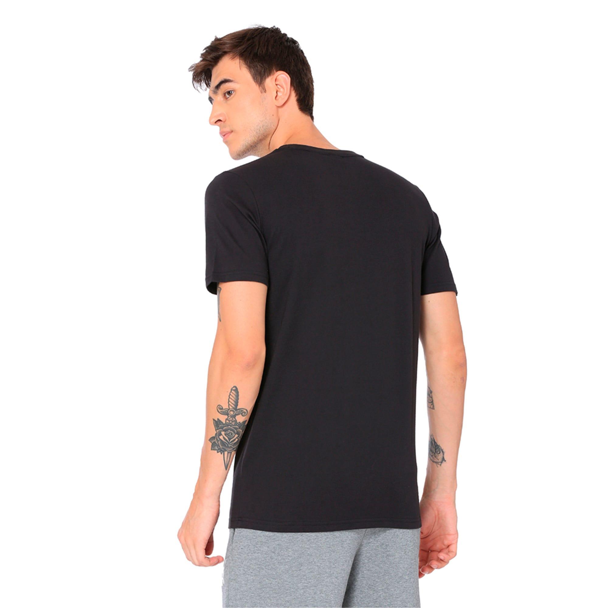 Thumbnail 5 of Classics Men's Archive Embossed Logo T-Shirt, Puma Black, medium-IND