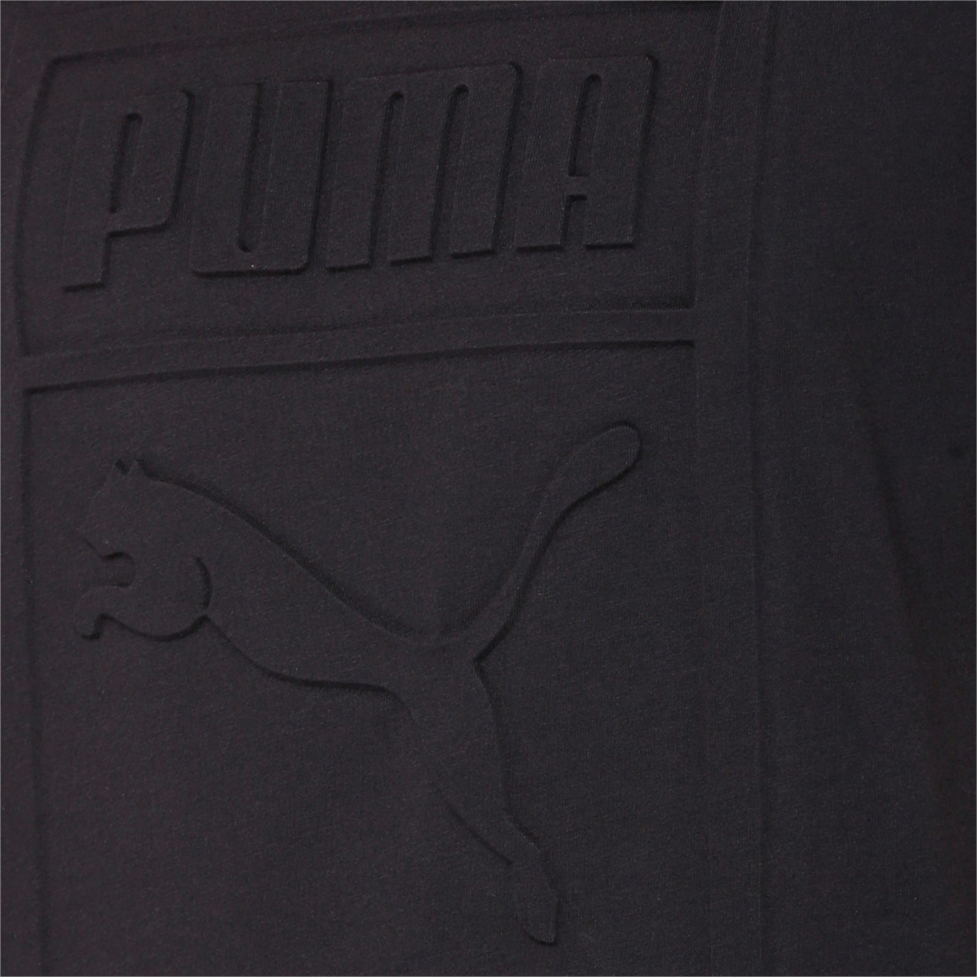 Thumbnail 6 of Classics Men's Archive Embossed Logo T-Shirt, Puma Black, medium-IND