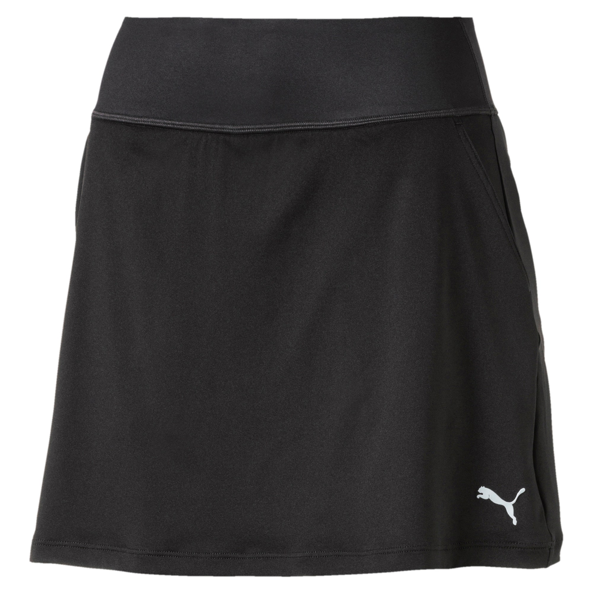 Thumbnail 4 of Golf Women's PWRSHAPE Solid Knit Skirt, Puma Black, medium