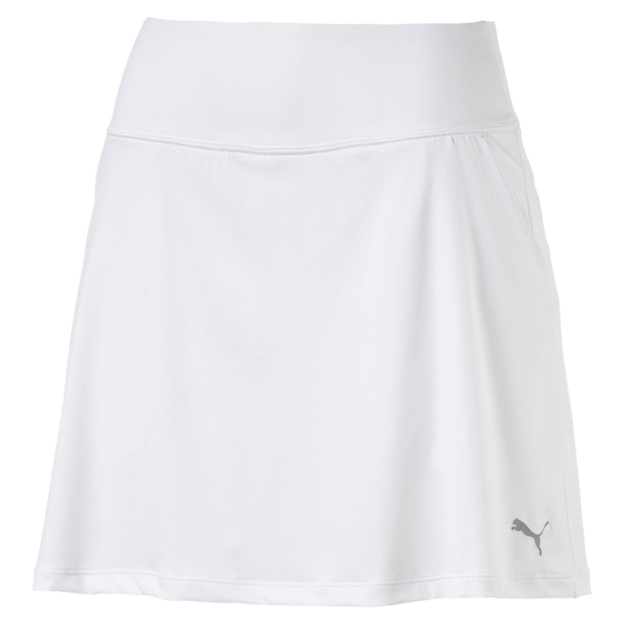 Thumbnail 1 of Golf Women's PWRSHAPE Solid Knit Skirt, Bright White, medium