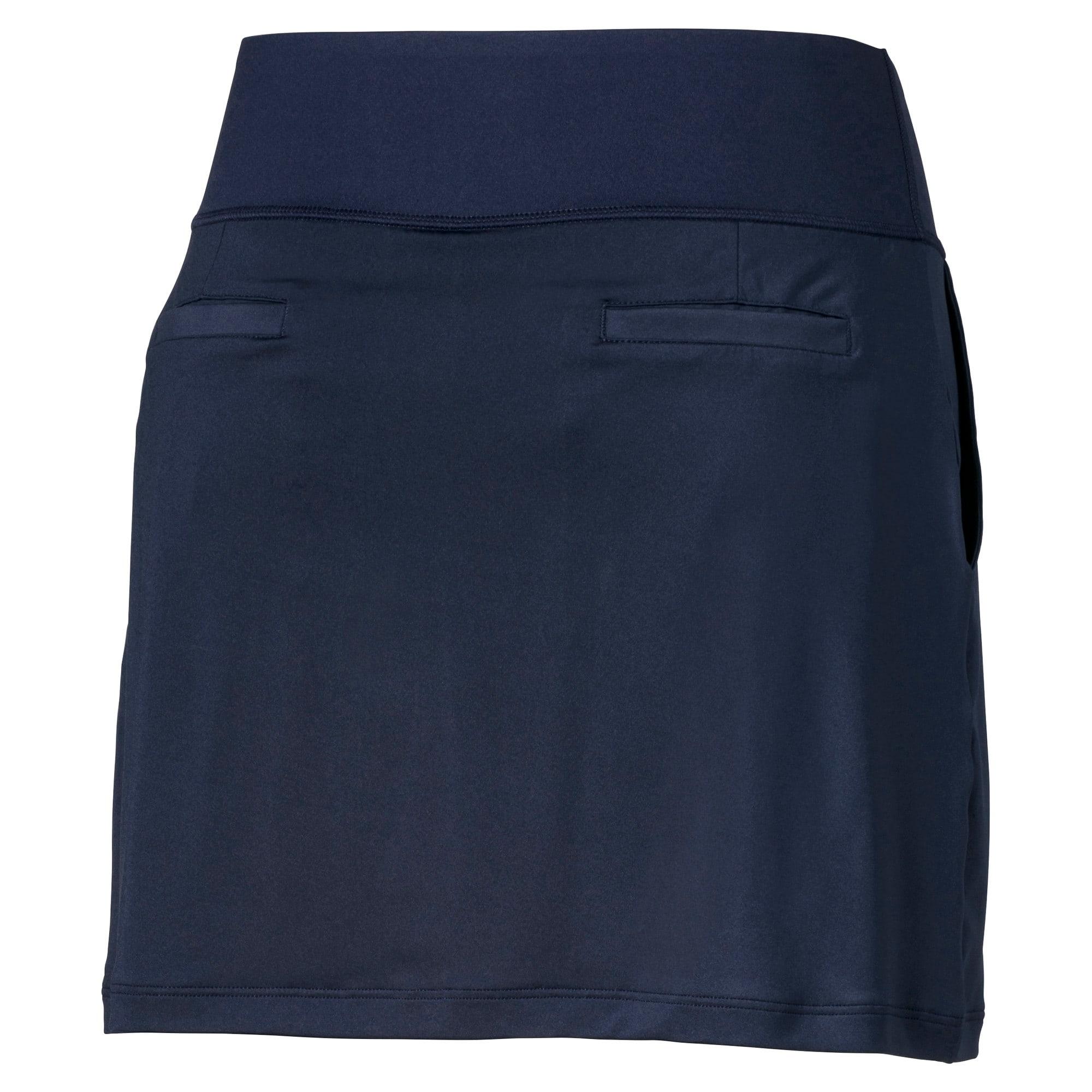 Thumbnail 2 of Golf Women's PWRSHAPE Solid Knit Skirt, Peacoat, medium