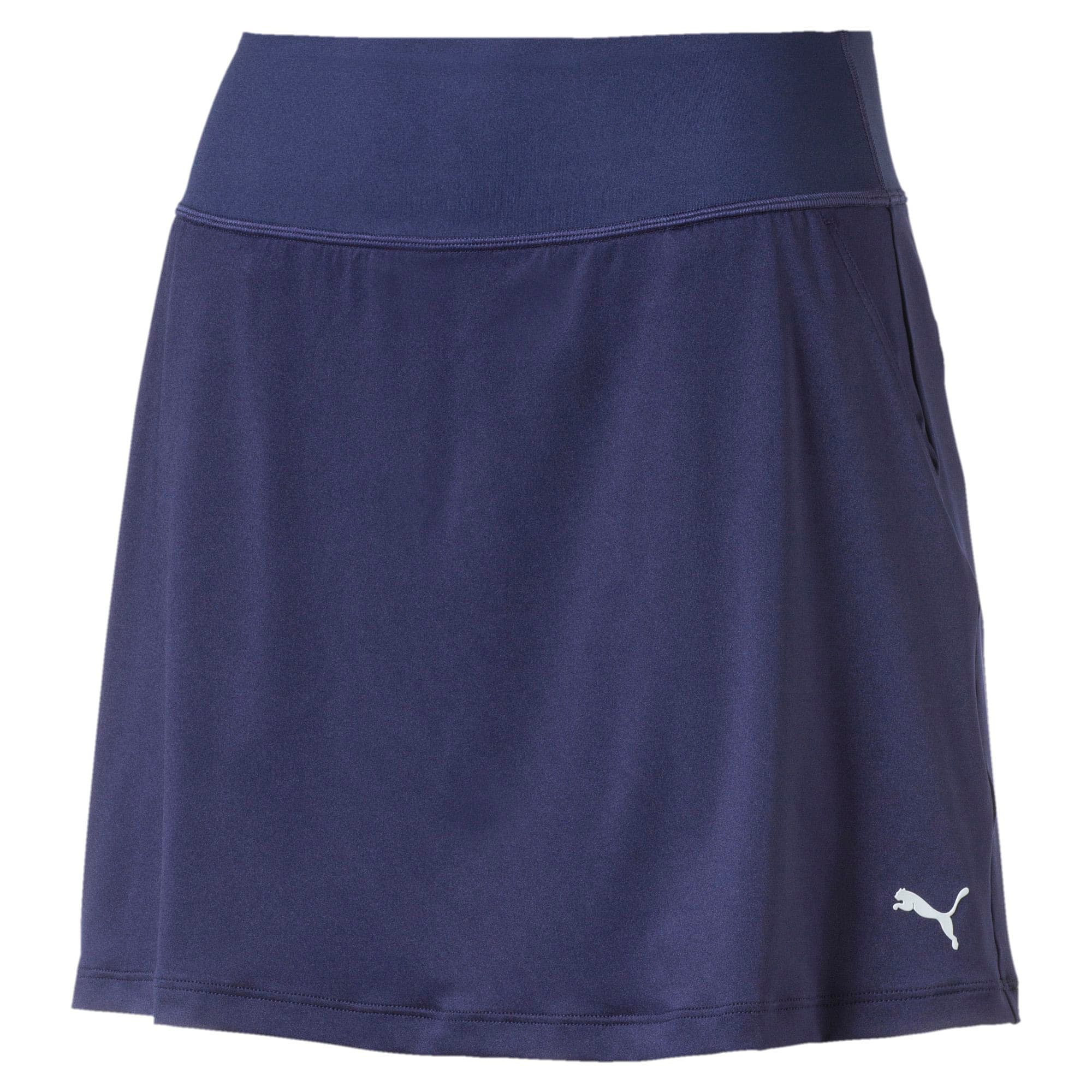 Thumbnail 1 of Golf Women's PWRSHAPE Solid Knit Skirt, Peacoat, medium