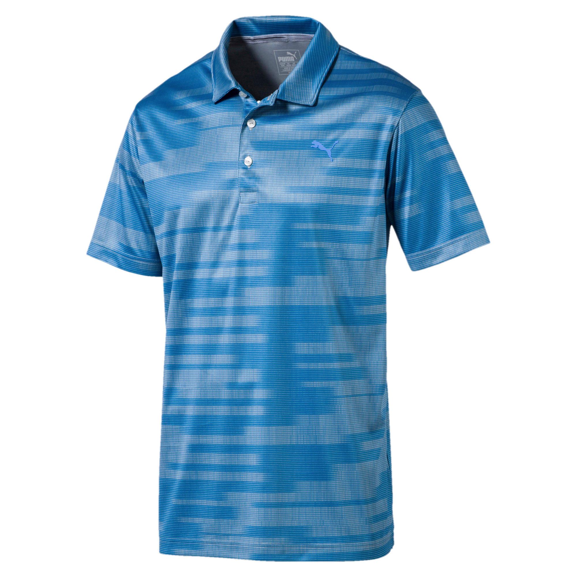 Thumbnail 1 of Golf Men's PWRCOOL Blur Polo, marina, medium-IND