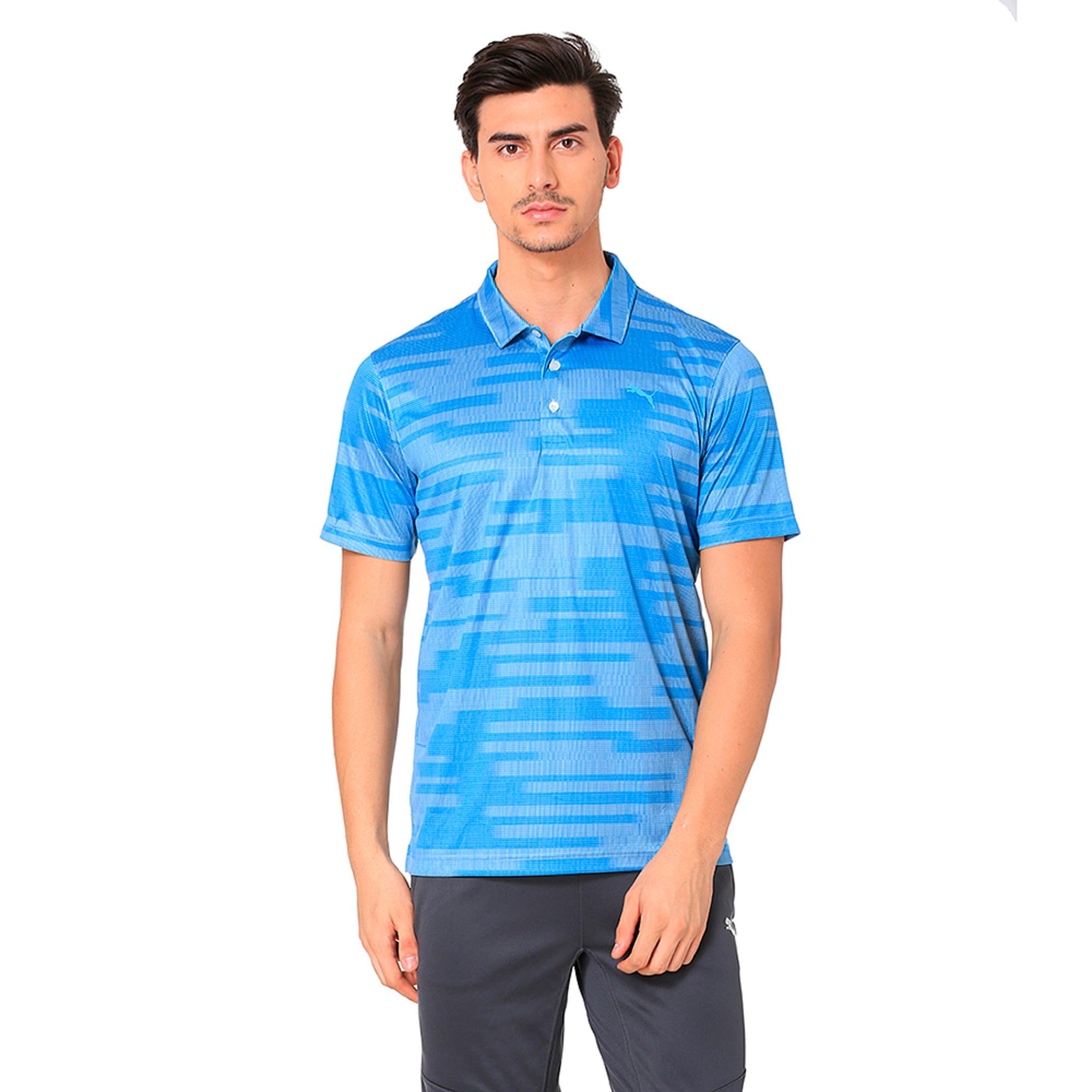 Thumbnail 2 of Golf Men's PWRCOOL Blur Polo, marina, medium-IND