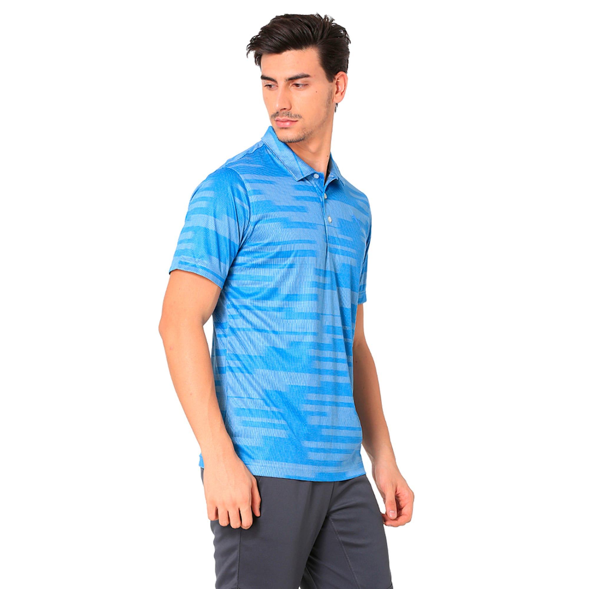 Thumbnail 5 of Golf Men's PWRCOOL Blur Polo, marina, medium-IND