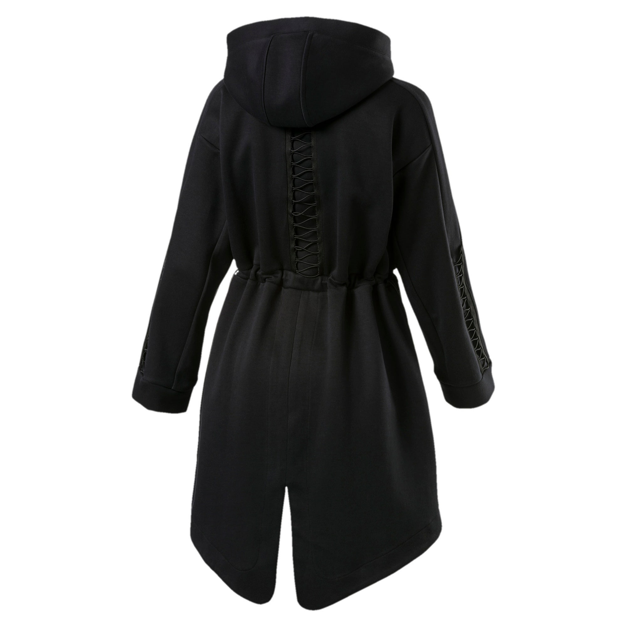 Thumbnail 5 of Evolution Women's Lacing Midlayer Jacket, Puma Black, medium-IND