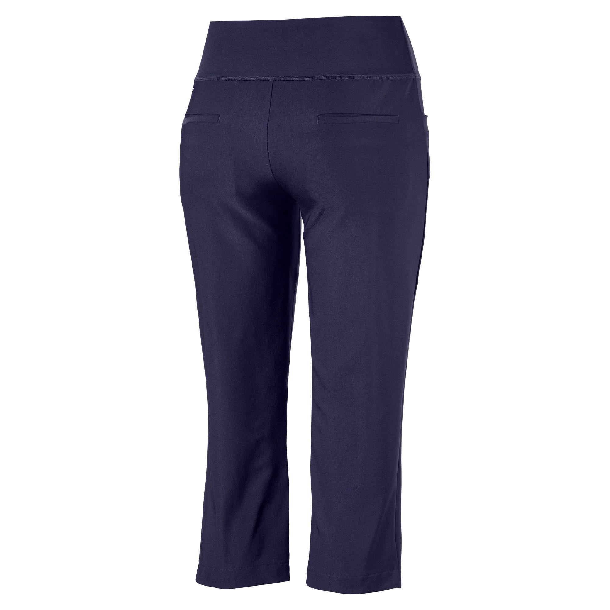 Thumbnail 5 of Golf Women's PWRSHAPE Capri Pants, Peacoat, medium