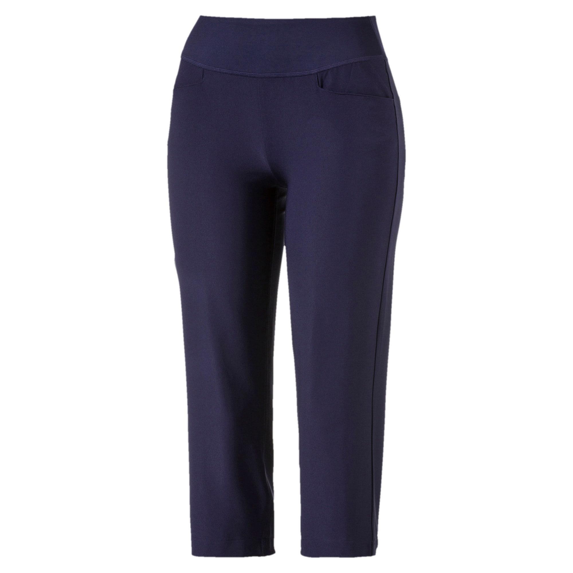 Thumbnail 4 of Golf Women's PWRSHAPE Capri Pants, Peacoat, medium