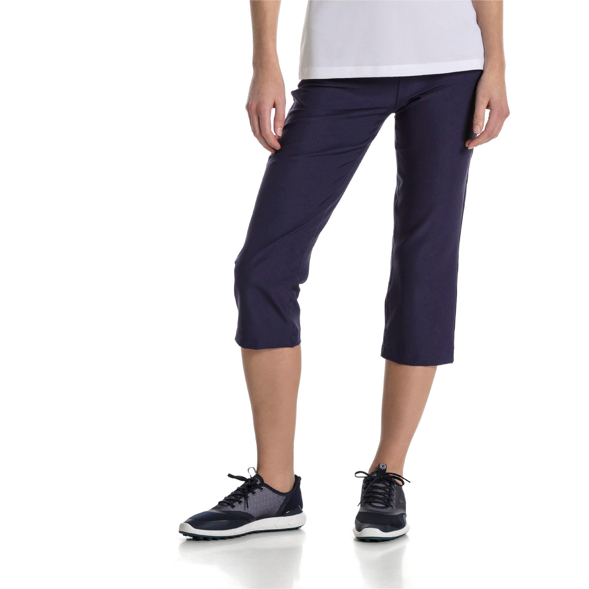 Thumbnail 1 of Golf Women's PWRSHAPE Capri Pants, Peacoat, medium