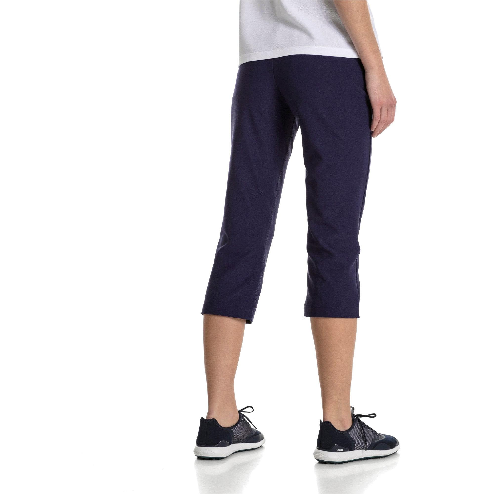 Thumbnail 2 of Golf Women's PWRSHAPE Capri Pants, Peacoat, medium