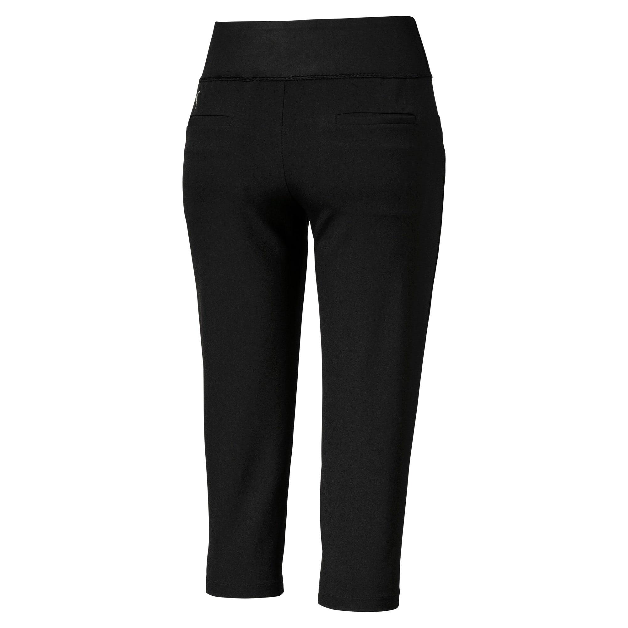Thumbnail 2 of Golf Women's PWRSHAPE Capri Pants, Puma Black, medium