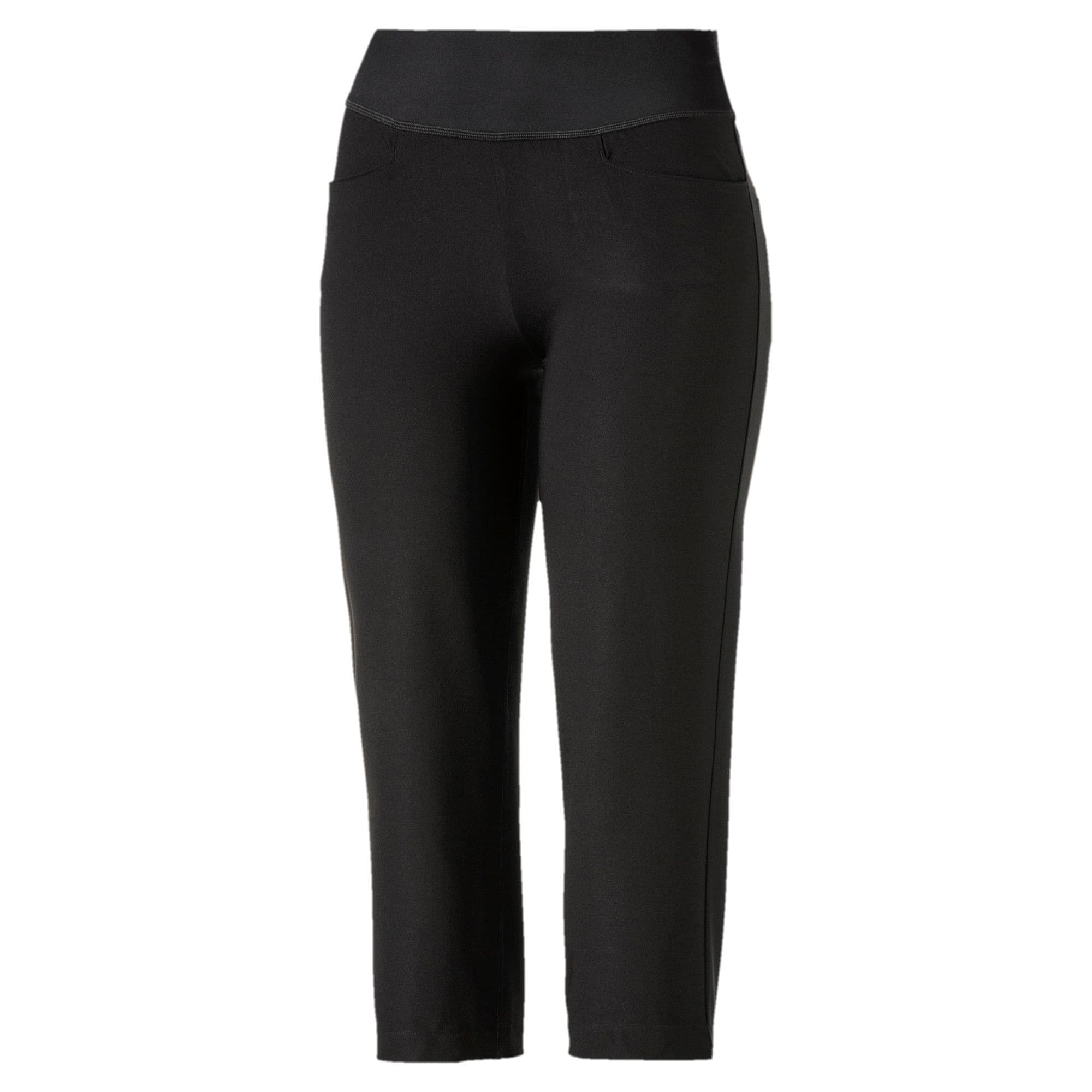 Thumbnail 1 of Golf Women's PWRSHAPE Capri Pants, Puma Black, medium