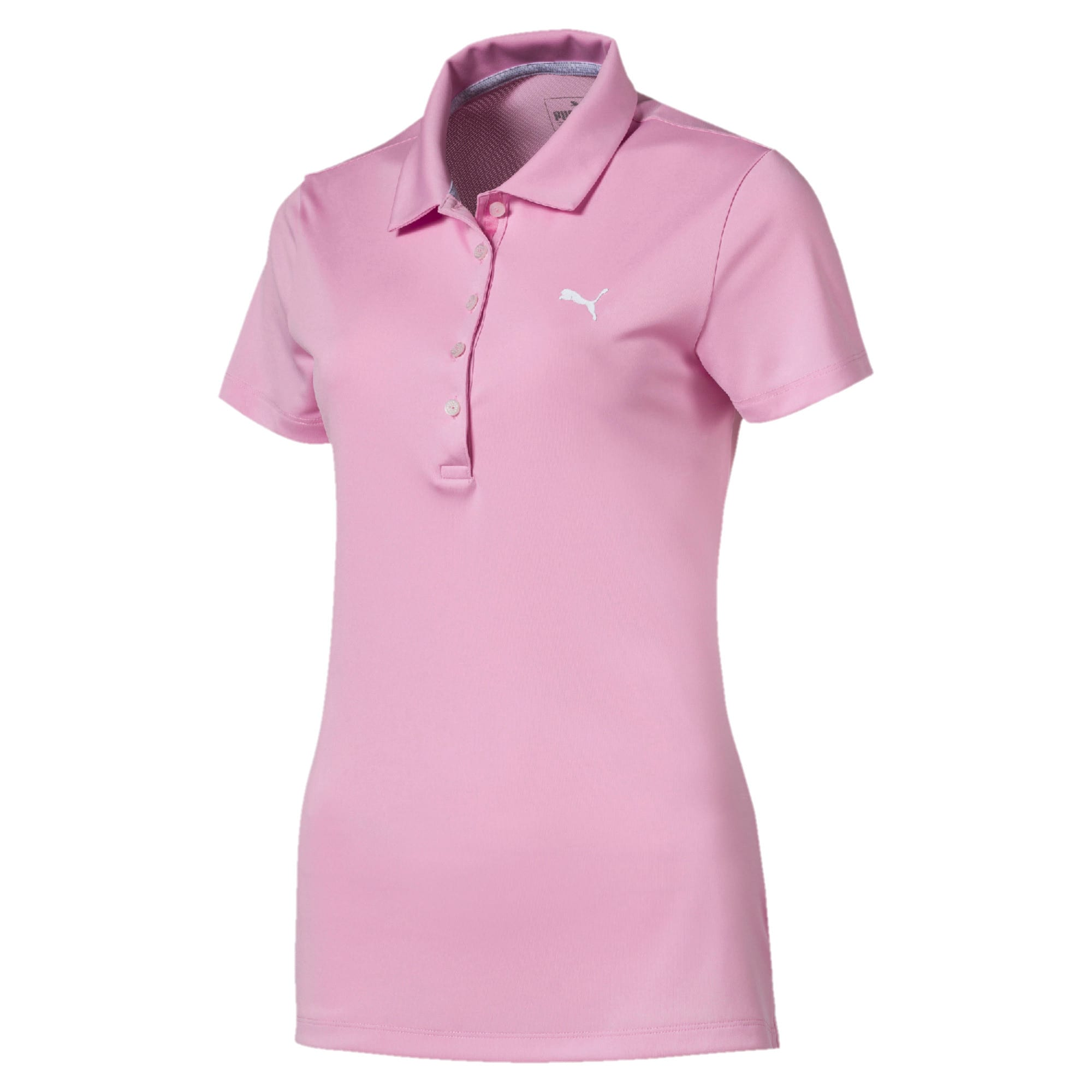 Thumbnail 4 of Golf Damen Pounce Polo, Pale Pink, medium