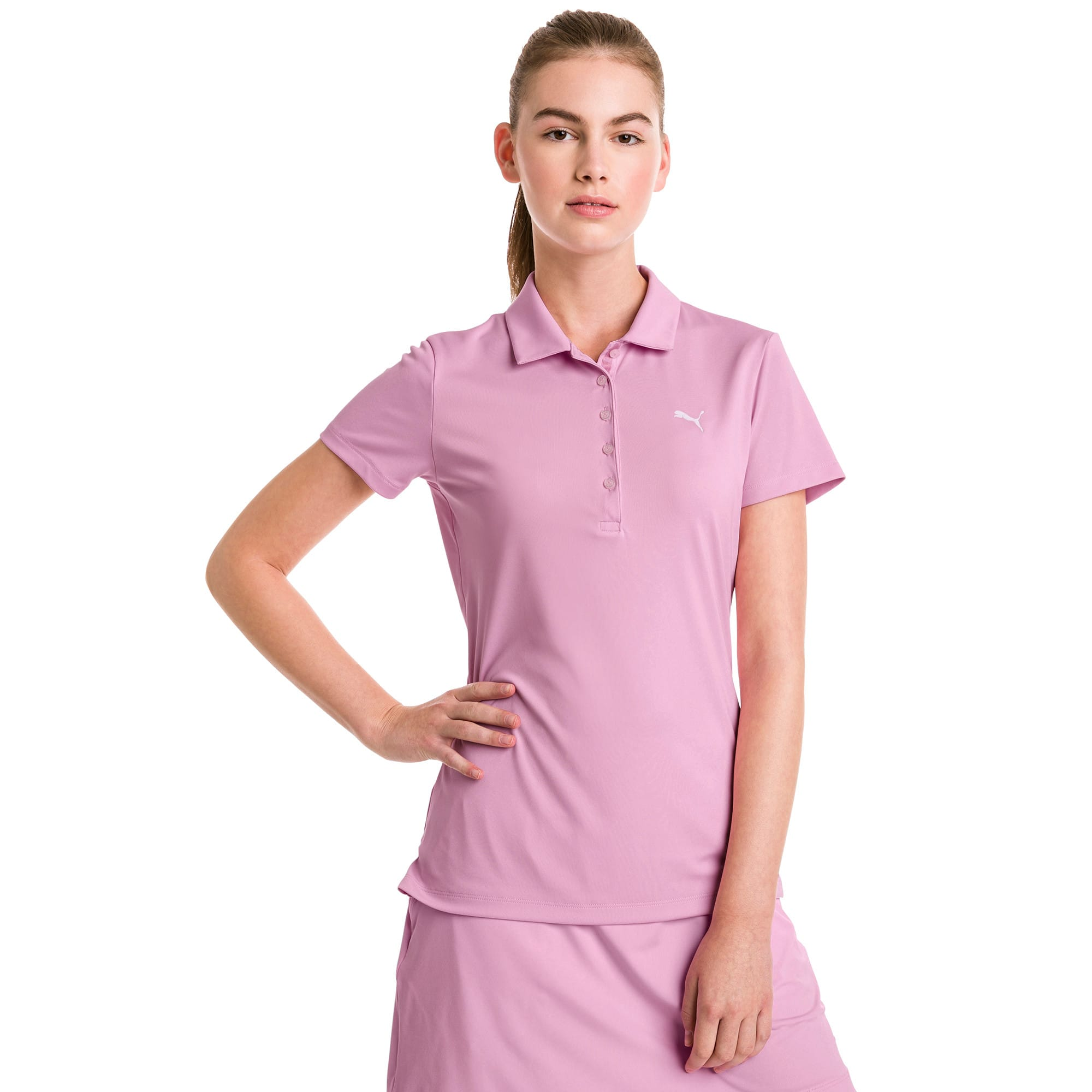 Thumbnail 1 of Golf Damen Pounce Polo, Pale Pink, medium