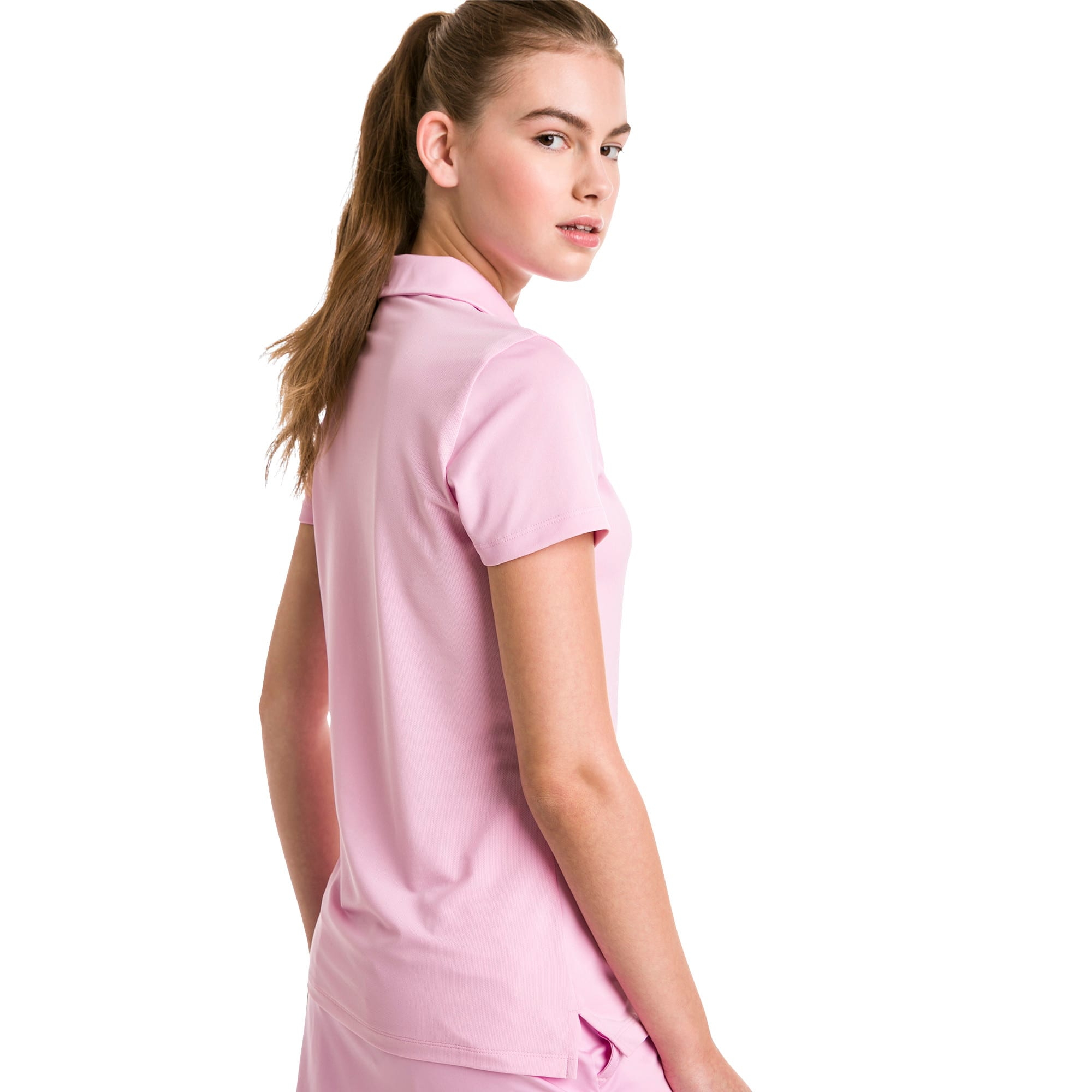 Thumbnail 2 of Golf Damen Pounce Polo, Pale Pink, medium