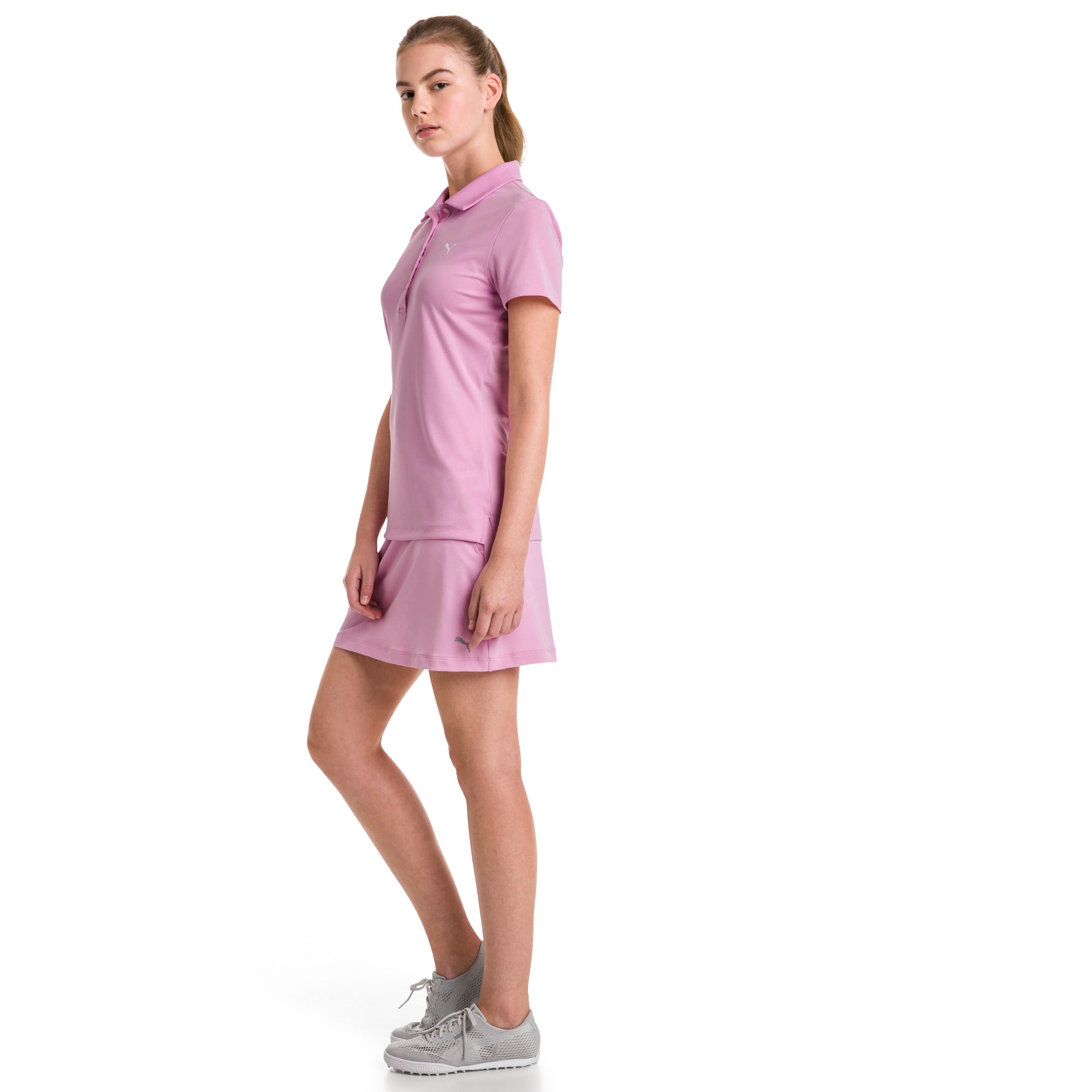Thumbnail 3 of Golf Damen Pounce Polo, Pale Pink, medium