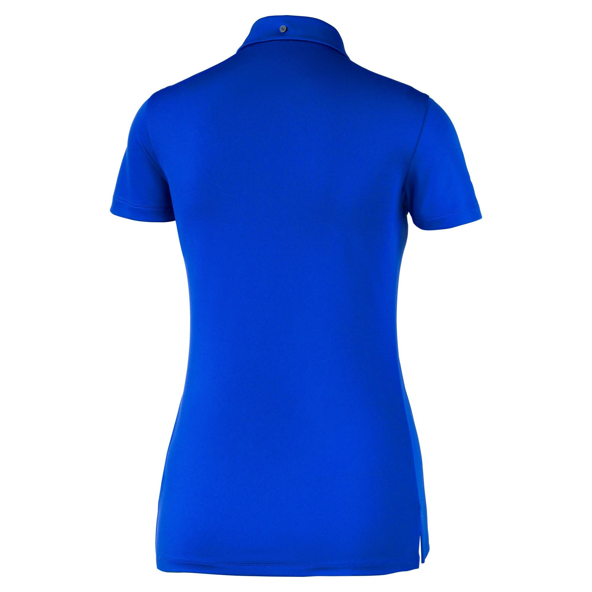 Thumbnail 5 of Golfpoloshirts voor dames, Dazzling Blue, medium