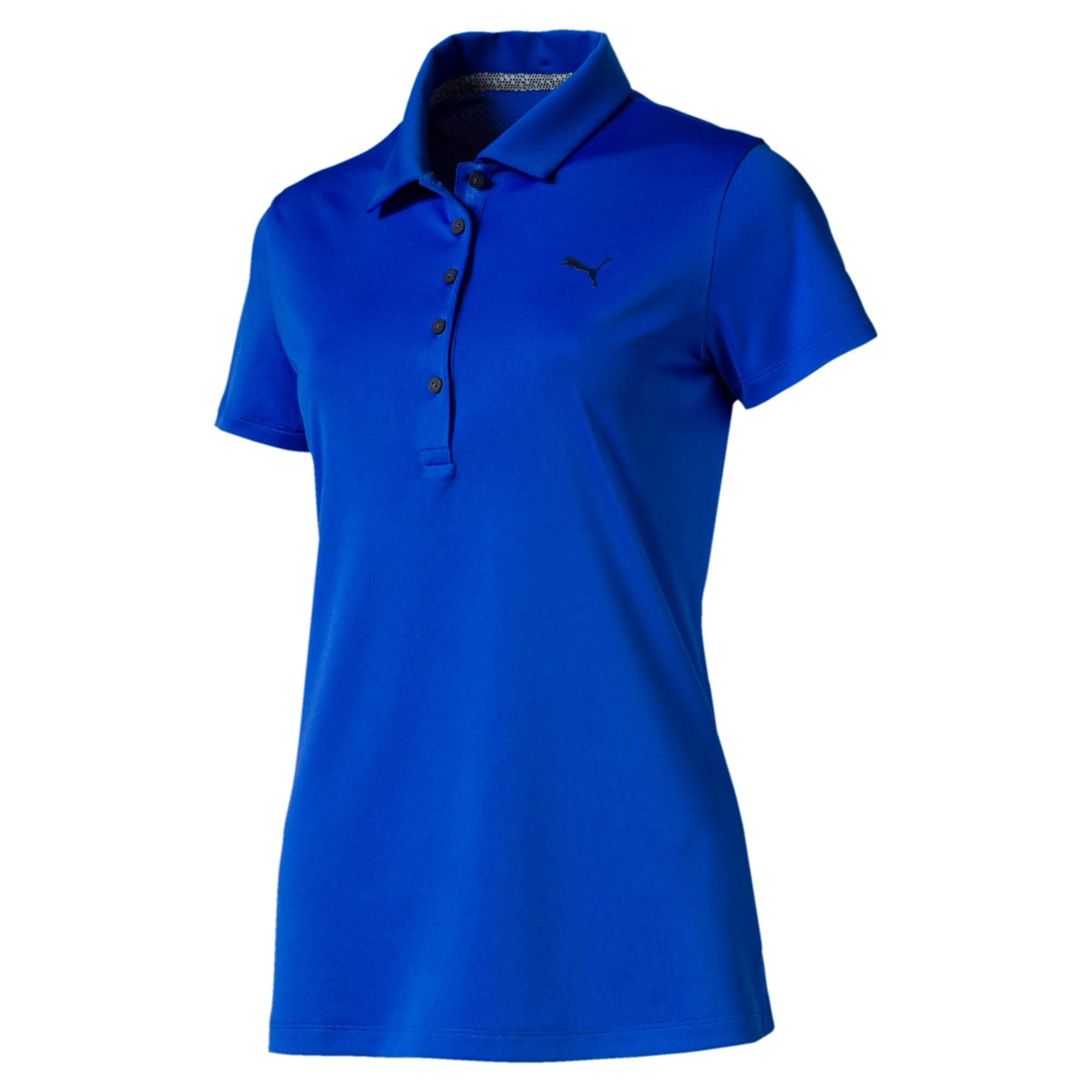 Thumbnail 4 of Golfpoloshirts voor dames, Dazzling Blue, medium