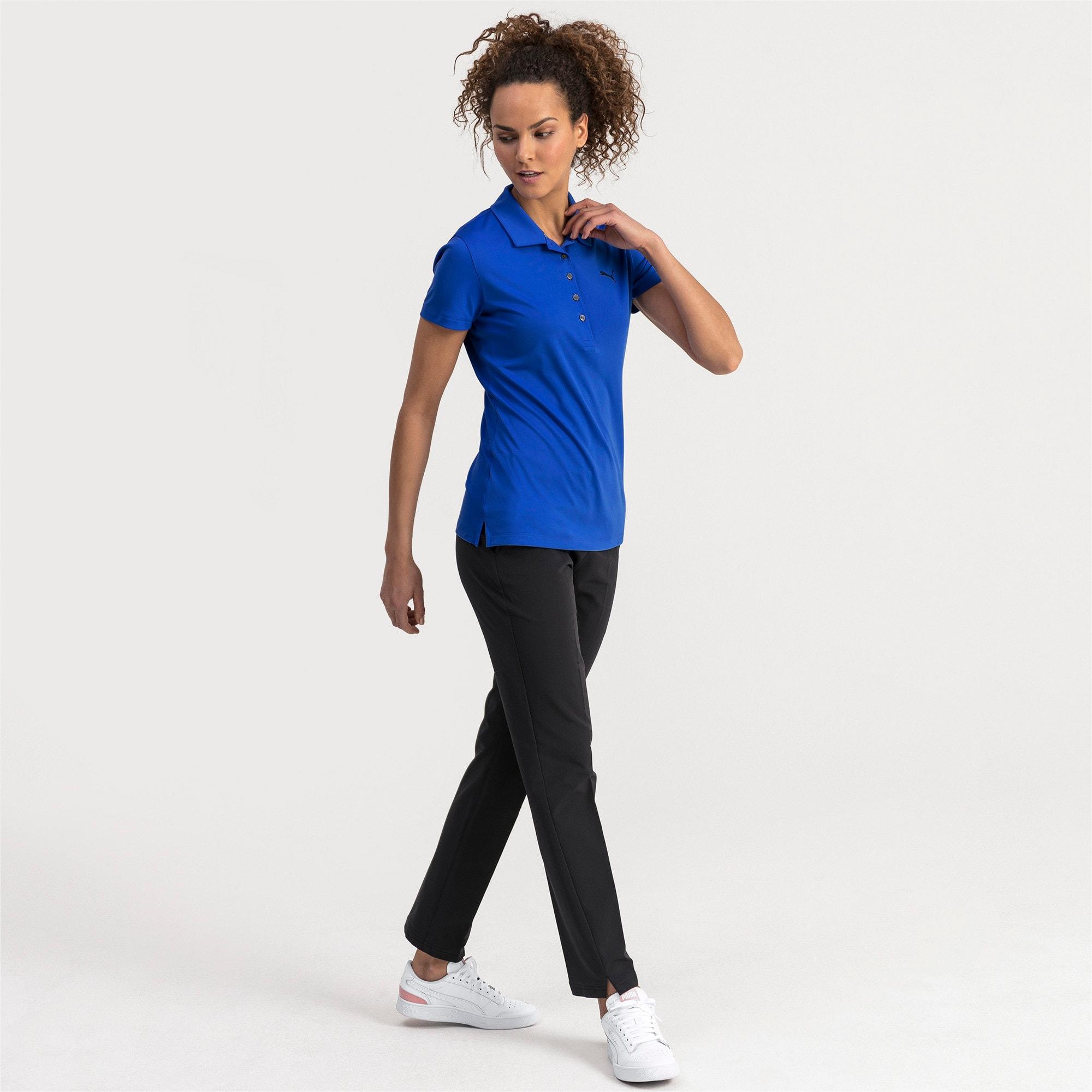 Thumbnail 3 of Golfpoloshirts voor dames, Dazzling Blue, medium