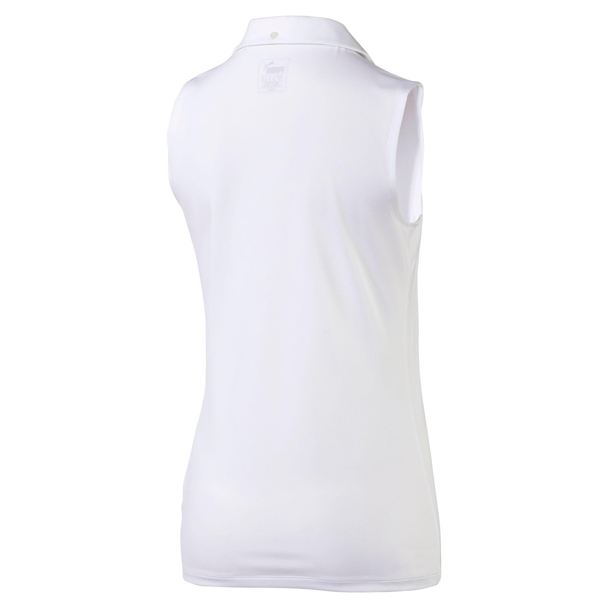 Thumbnail 5 of Golf Women's Pounce Sleeveless Polo, Bright White, medium
