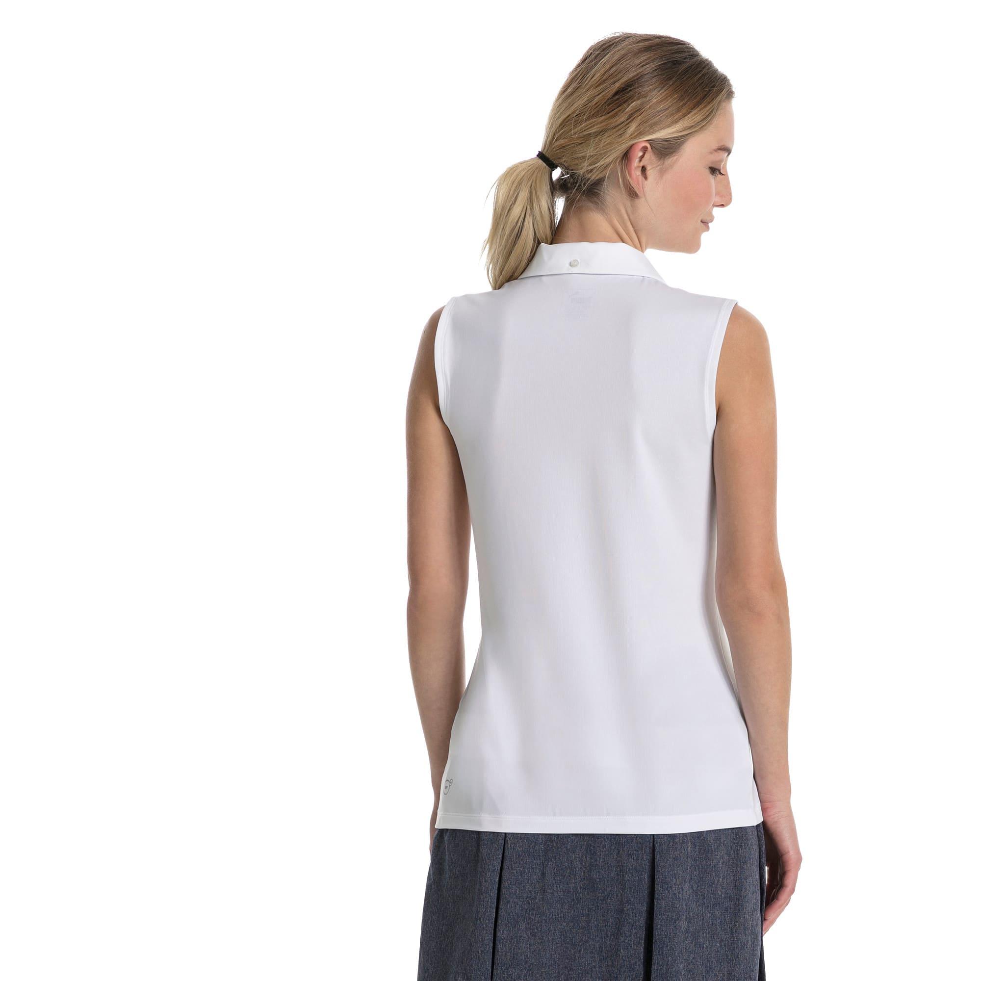 Thumbnail 2 of Golf Women's Pounce Sleeveless Polo, Bright White, medium