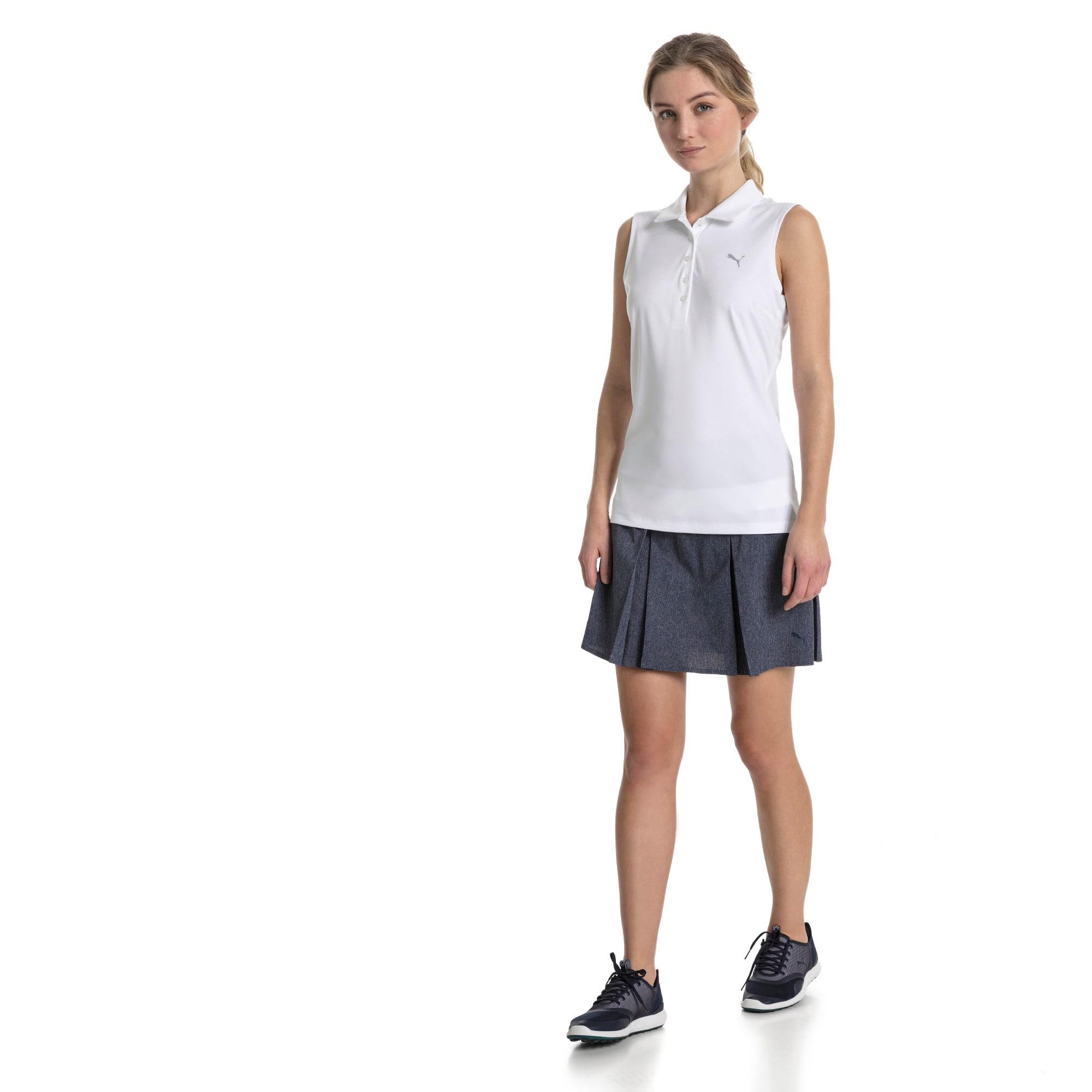 Thumbnail 3 of Golf Women's Pounce Sleeveless Polo, Bright White, medium