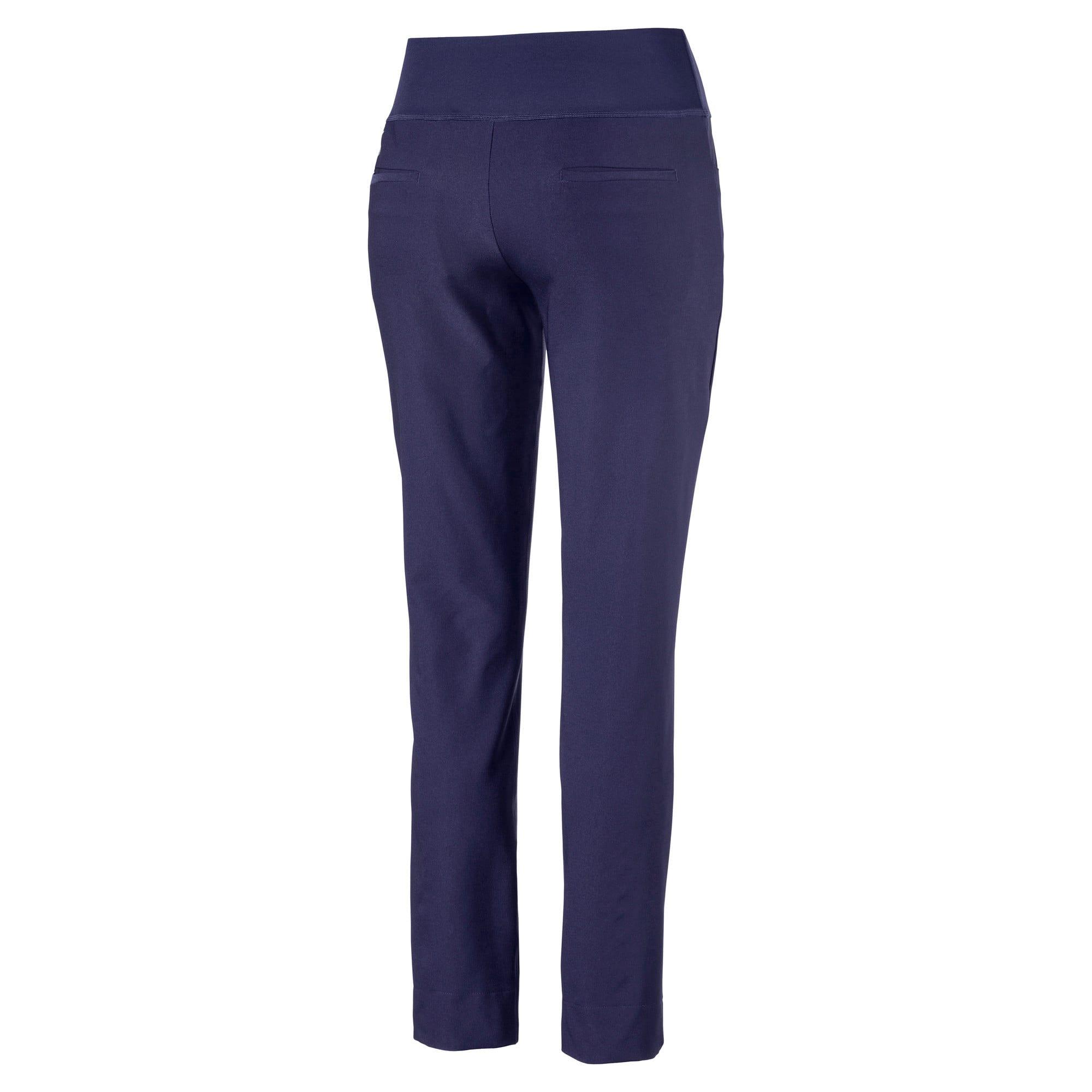 Thumbnail 5 of Golf - PWRSHAPE broek met elastische taille voor dames, Peacoat, medium