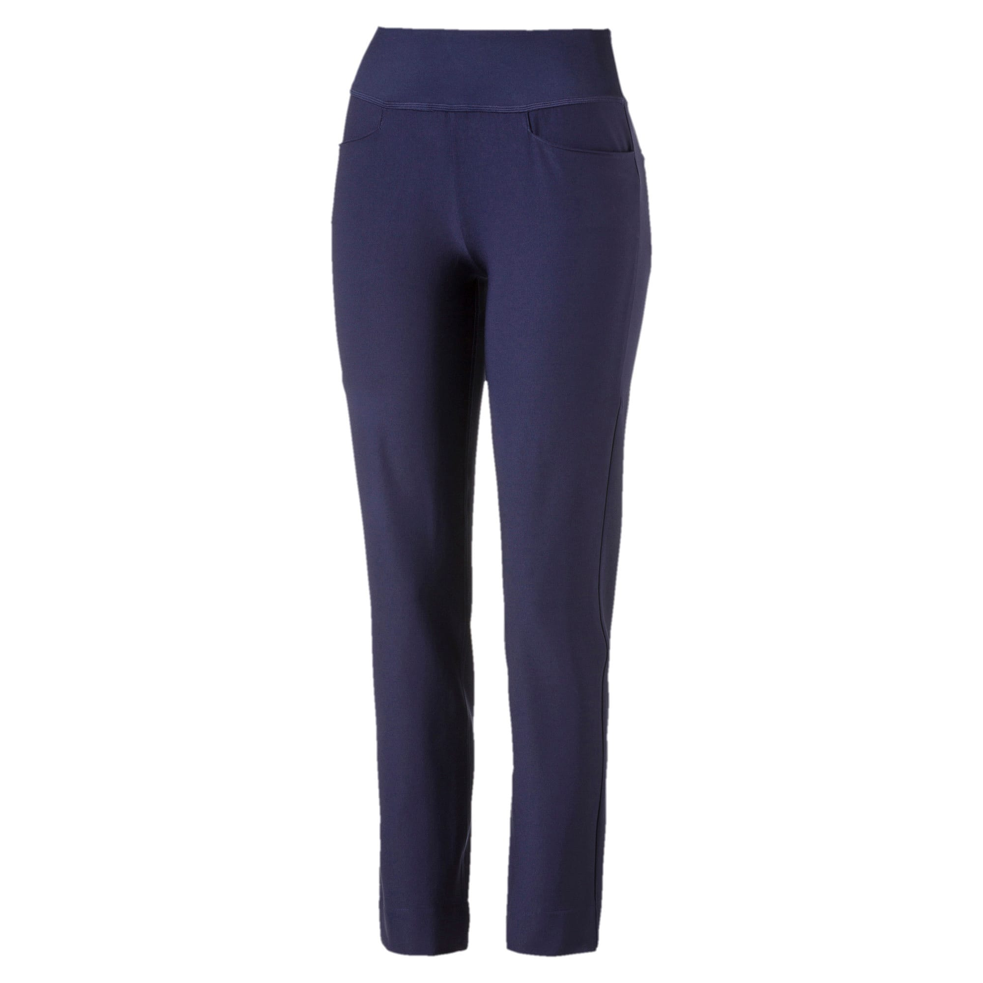 Thumbnail 4 of Golf - PWRSHAPE broek met elastische taille voor dames, Peacoat, medium