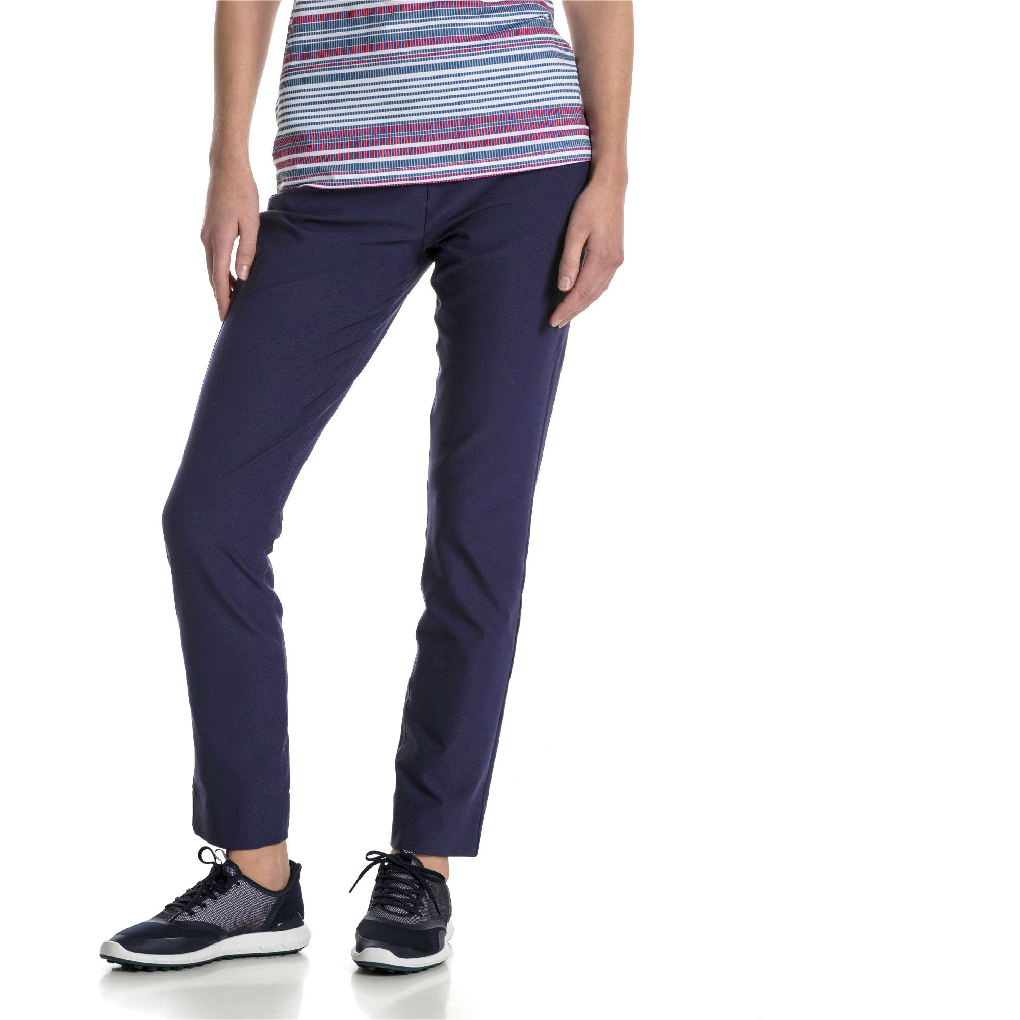 Thumbnail 1 of Golf - PWRSHAPE broek met elastische taille voor dames, Peacoat, medium