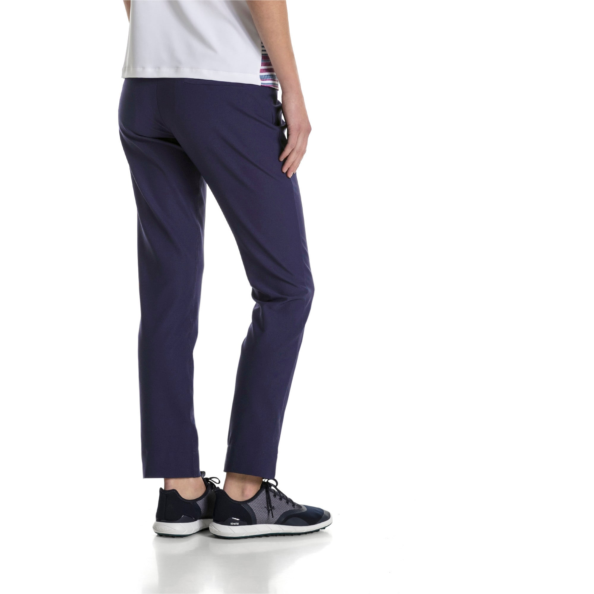 Thumbnail 2 of Golf - PWRSHAPE broek met elastische taille voor dames, Peacoat, medium