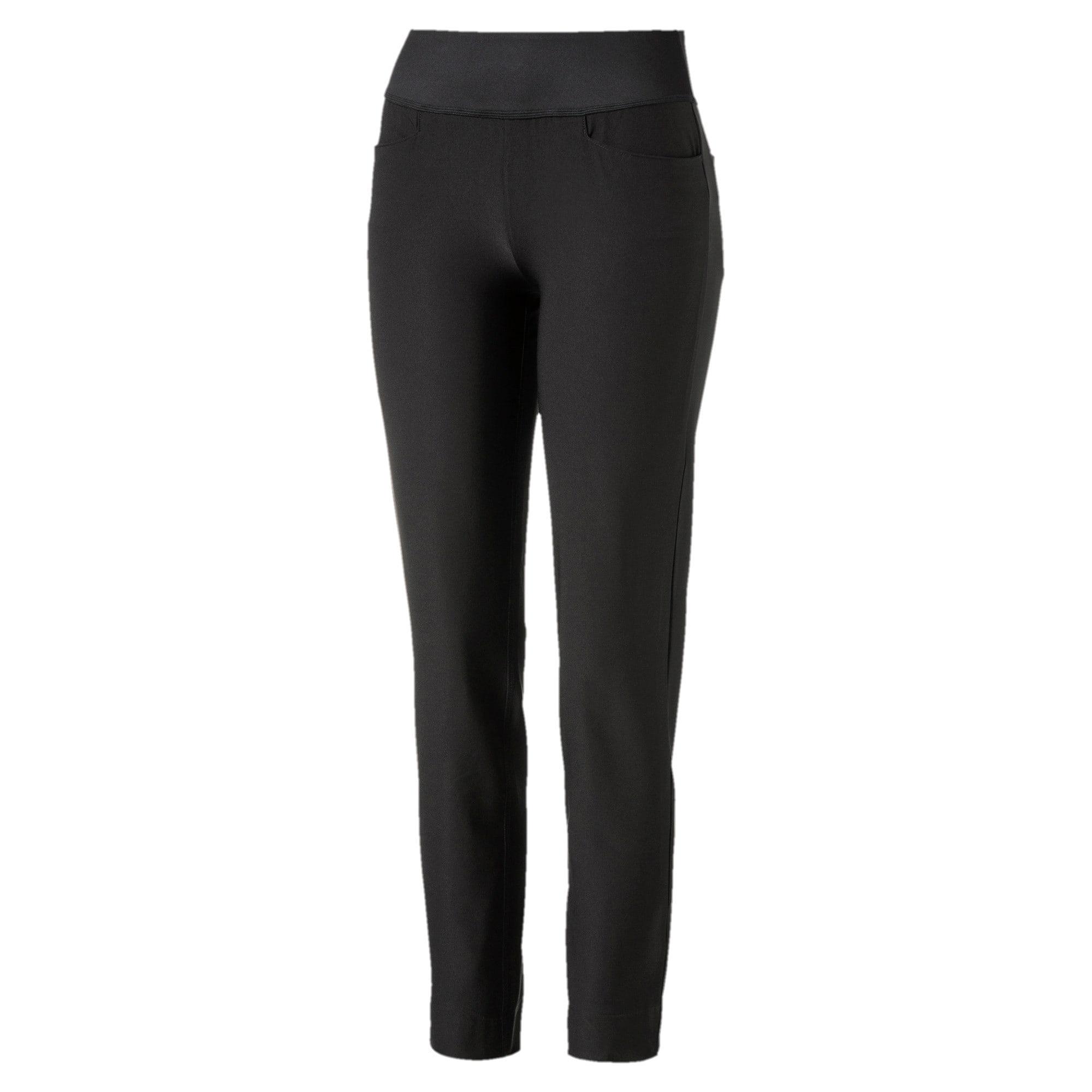 Thumbnail 4 of Golf Women's PWRSHAPE Pull On Pants, Puma Black, medium