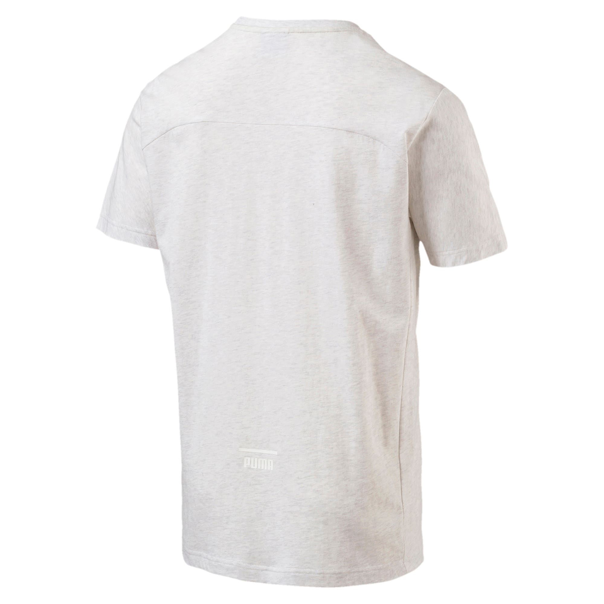 Thumbnail 2 of Pace Primary Men's T-Shirt, Puma White-Ice heather, medium-IND