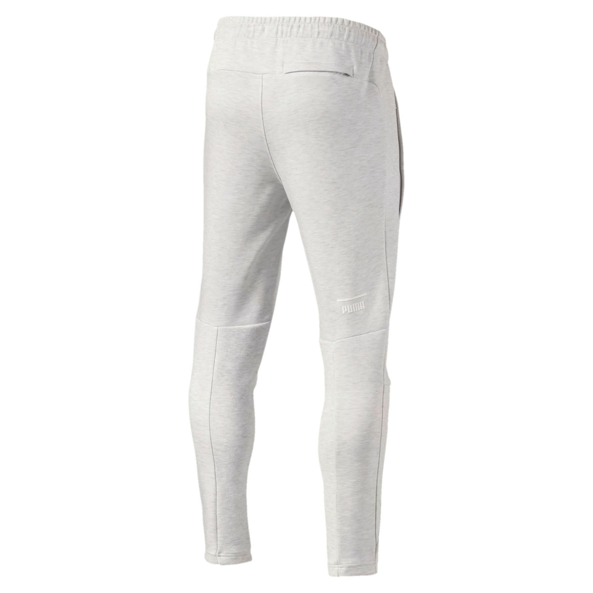 Thumbnail 2 of Pace Primary Men's Sweatpants, Puma White-Ice heather, medium-IND