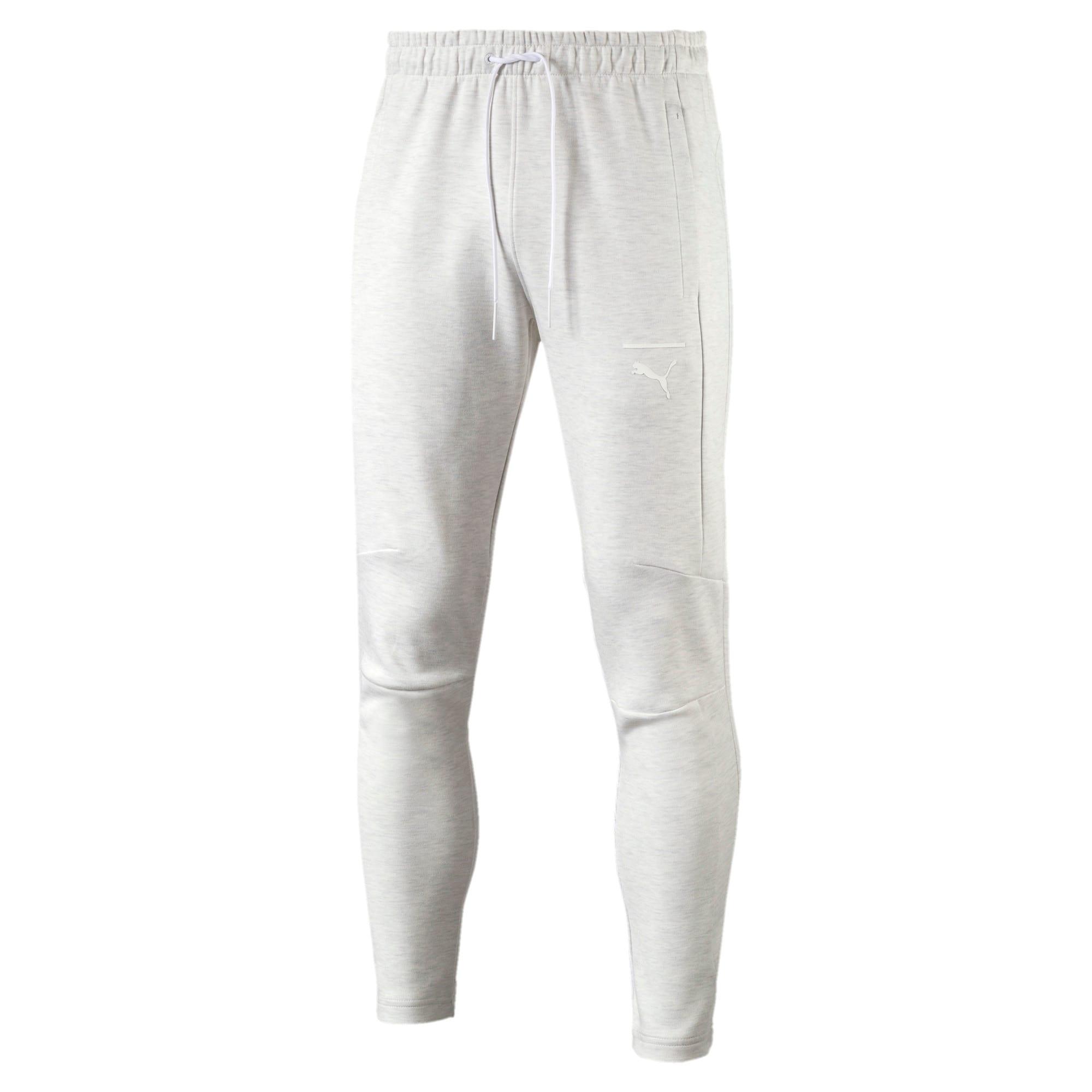Thumbnail 1 of Pace Primary Men's Sweatpants, Puma White-Ice heather, medium-IND