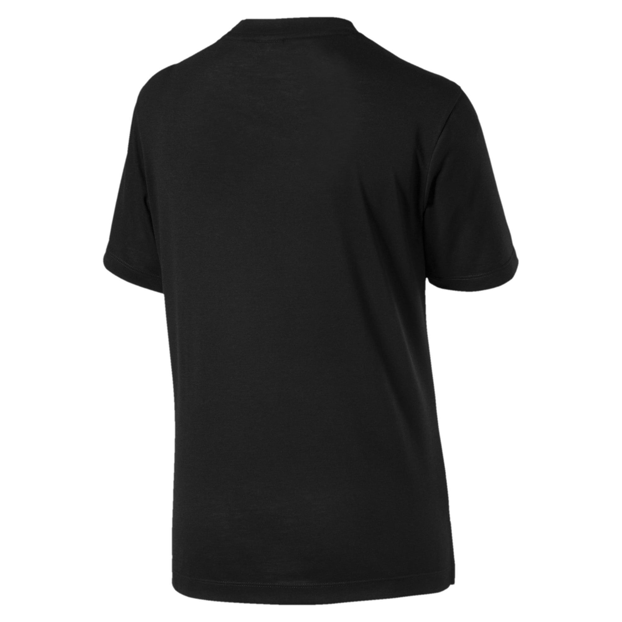 Thumbnail 2 of Classics Logo Women's Short Sleeve T-Shirt, Puma Black-2, medium-IND