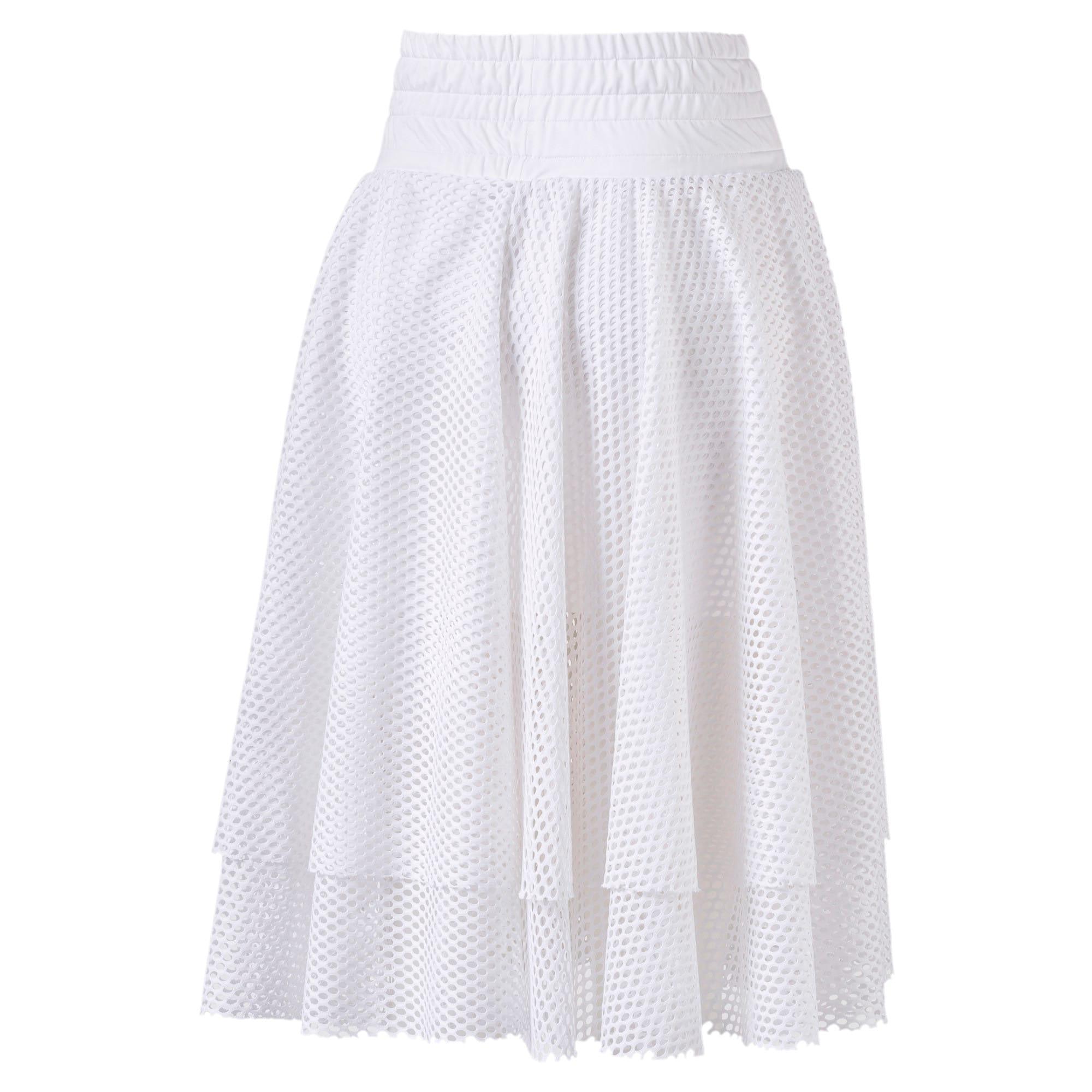 Thumbnail 5 of En Pointe Women's Skirt, Puma White, medium-IND