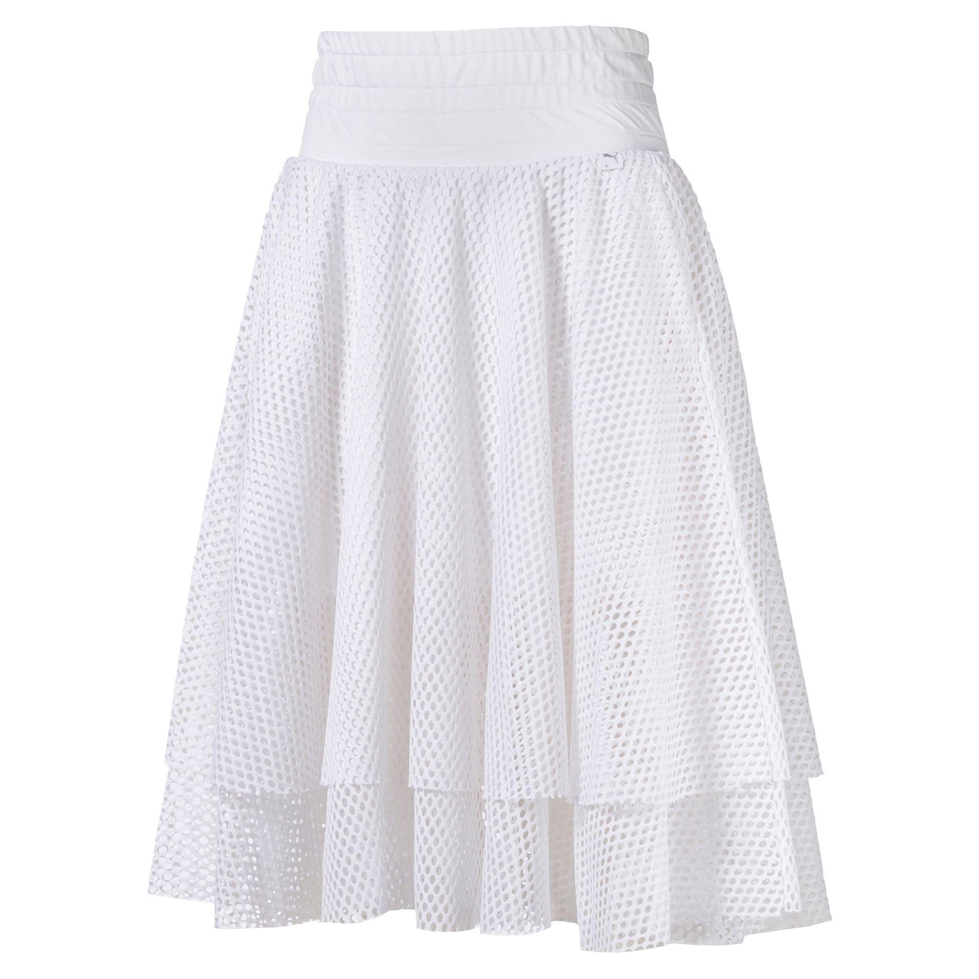 Thumbnail 4 of En Pointe Women's Skirt, Puma White, medium-IND