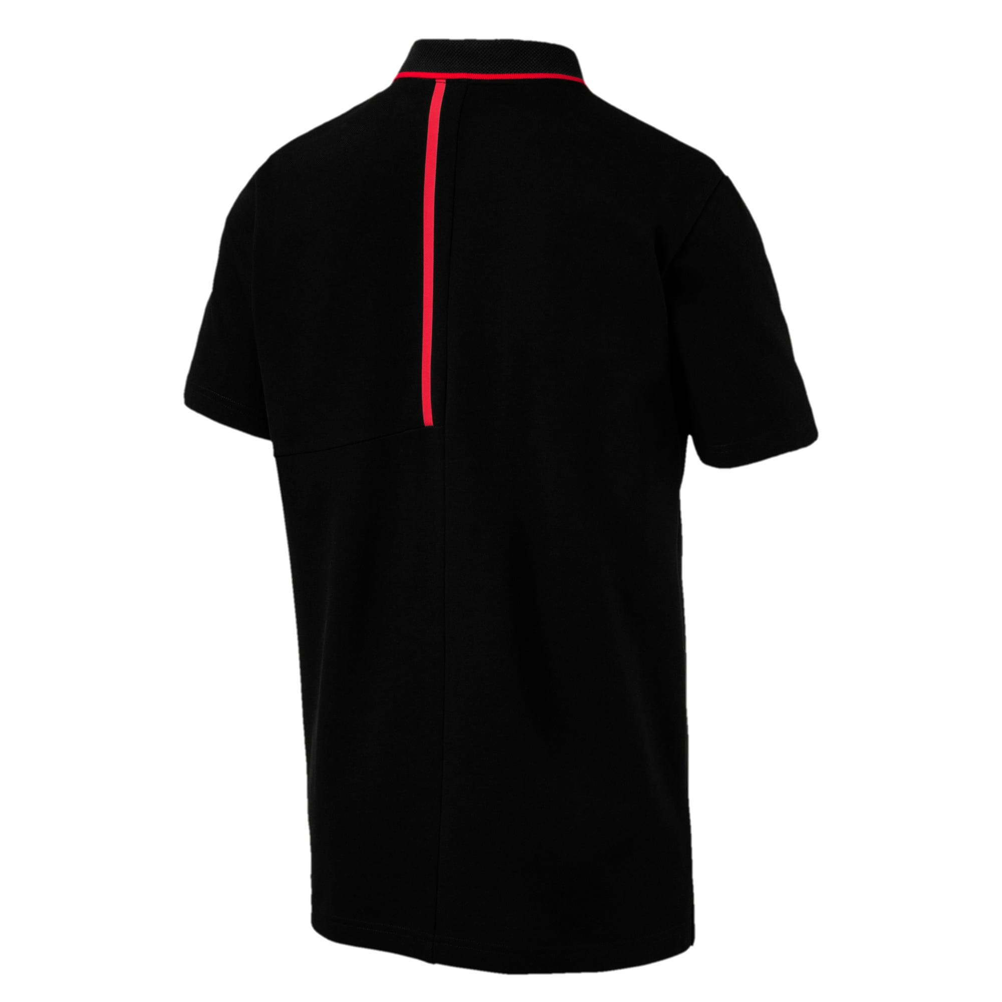 Thumbnail 4 of Ferrari Men's Polo, Puma Black, medium-IND