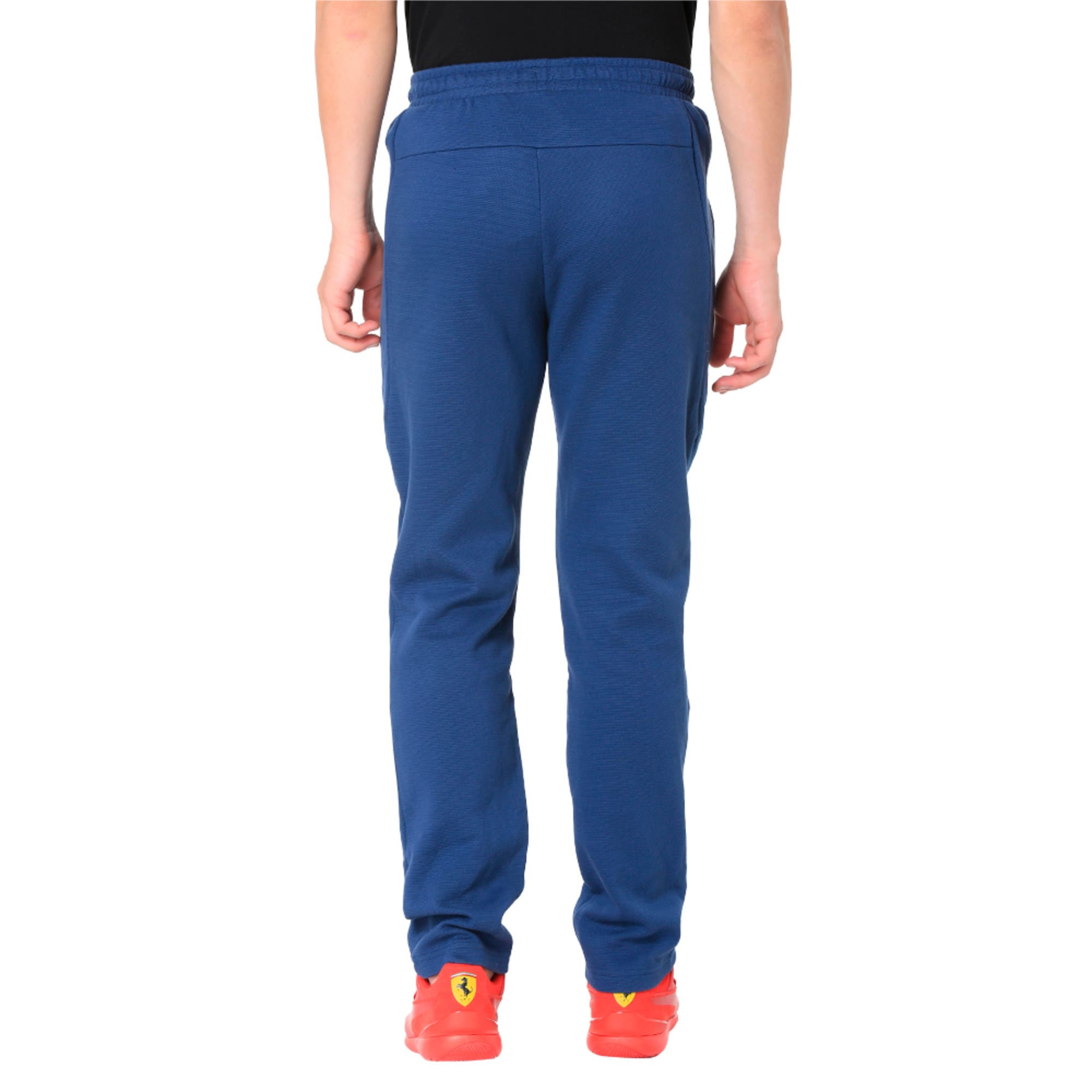 Thumbnail 8 of Ferrari Lifestyle Men's Sweatpants, Sargasso Sea, medium-IND