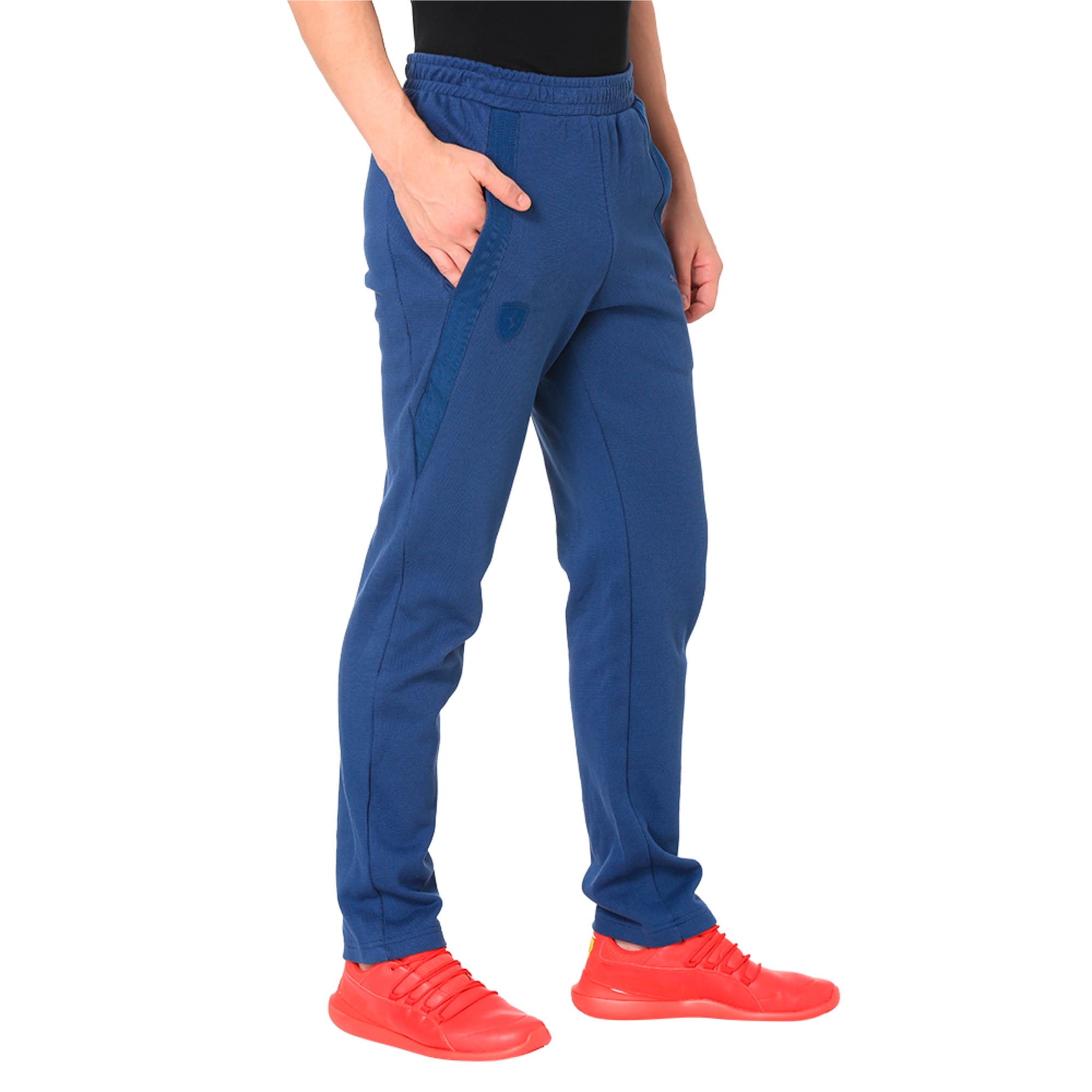 Thumbnail 5 of Ferrari Lifestyle Men's Sweatpants, Sargasso Sea, medium-IND