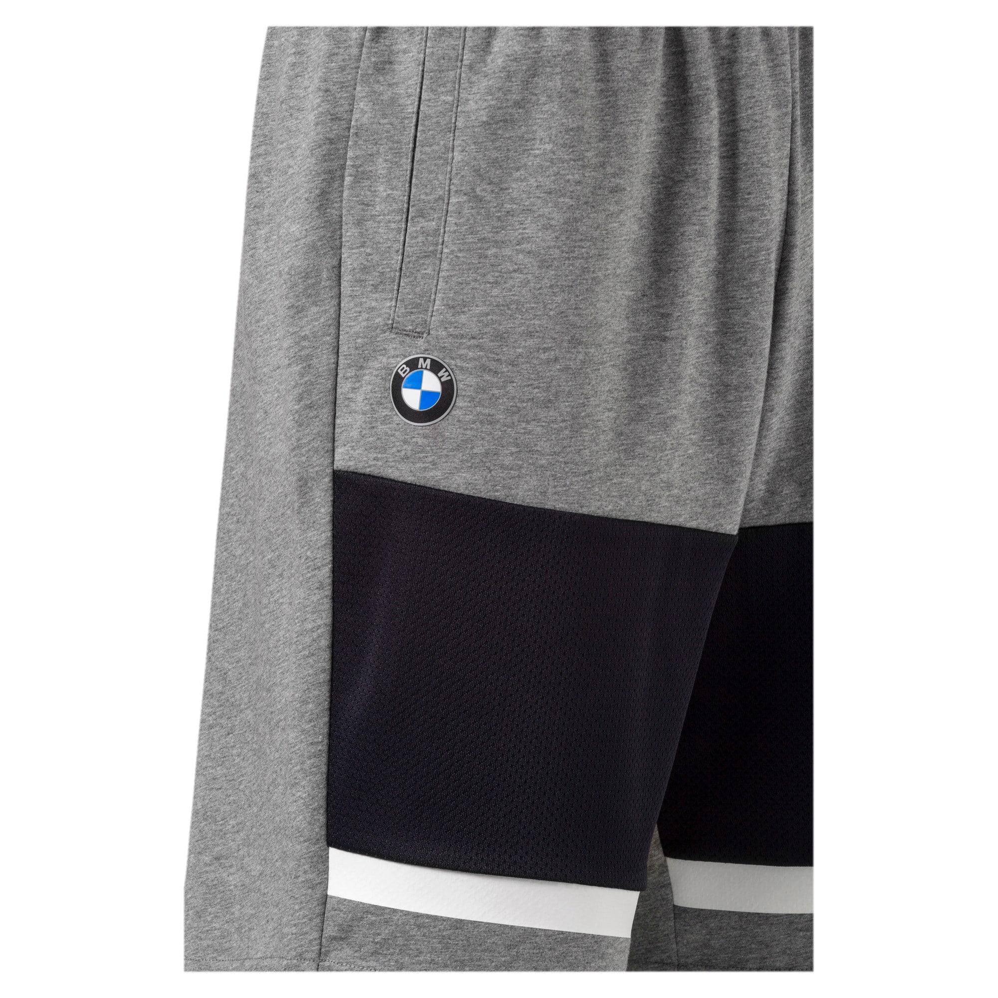 Thumbnail 3 of BMW Motorsport Men's Sweat Shorts, Medium Gray Heather, medium-IND