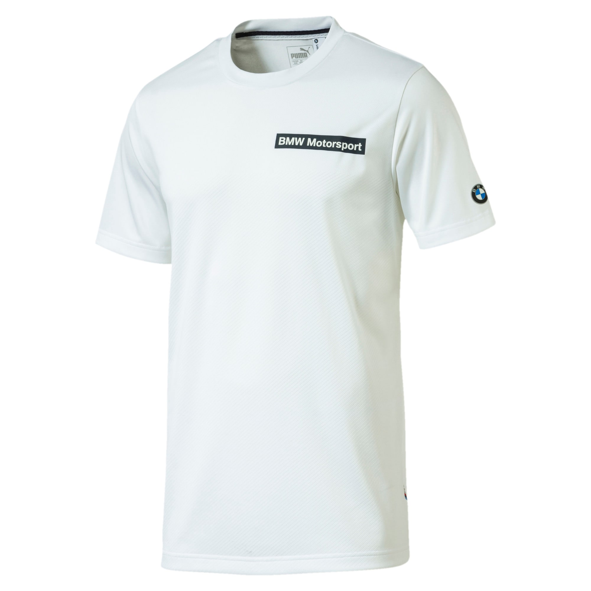Thumbnail 1 of BMW Motorsport Speed Cat Evo Men's T-shirt, Puma White, medium-IND