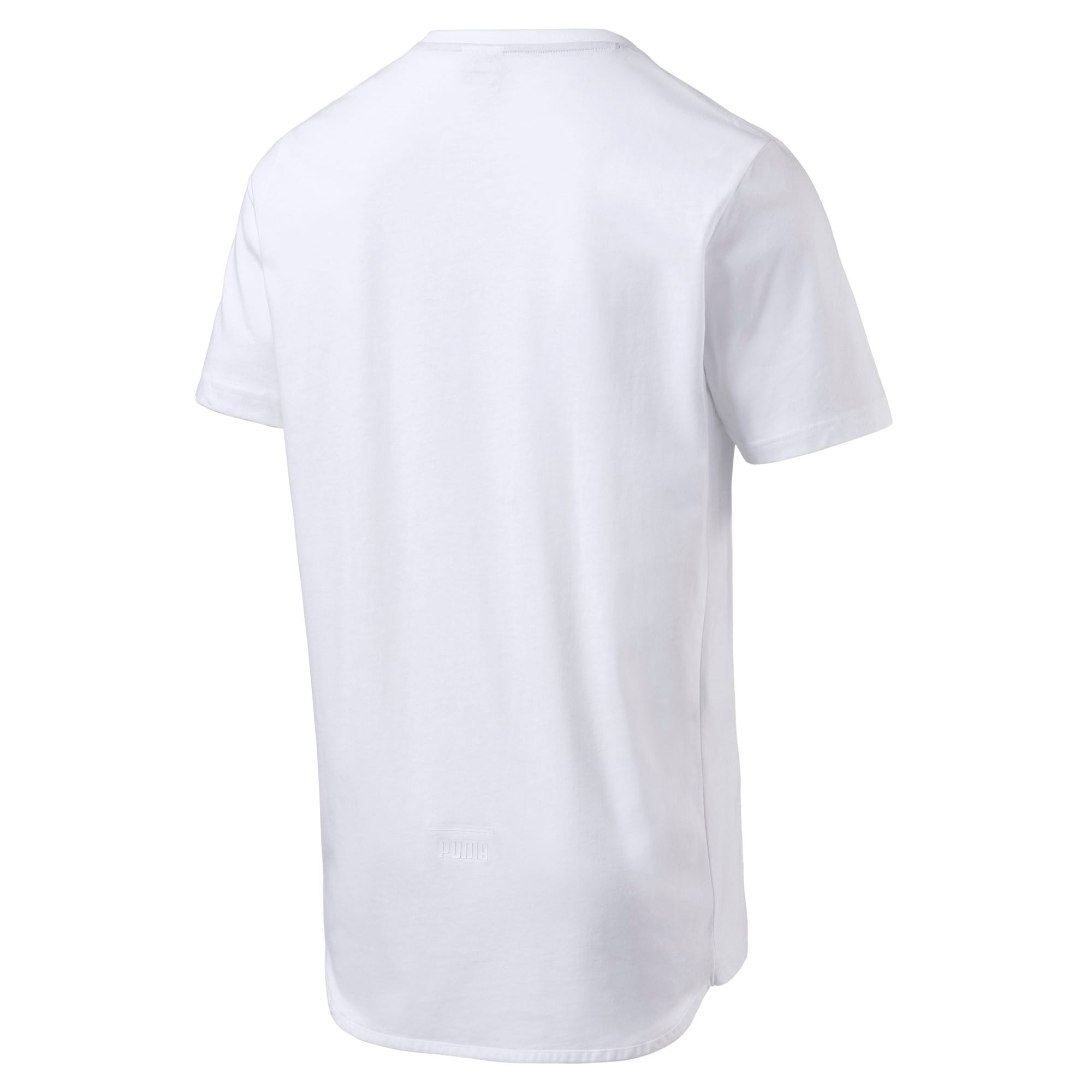 Thumbnail 2 of Pace Men's Graphic Tee, Puma White, medium-IND