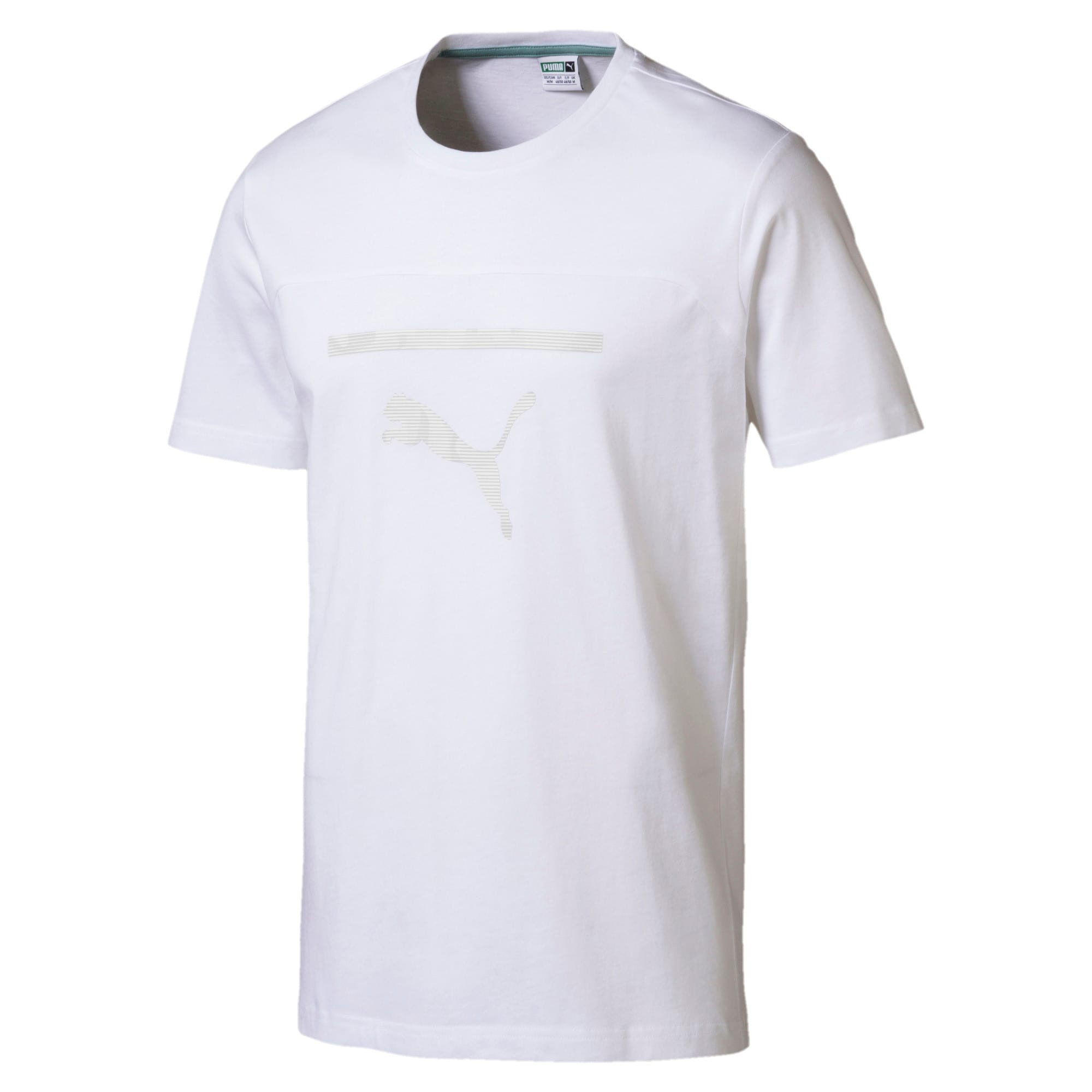 Thumbnail 1 of Pace Men's Graphic Tee, Puma White, medium-IND