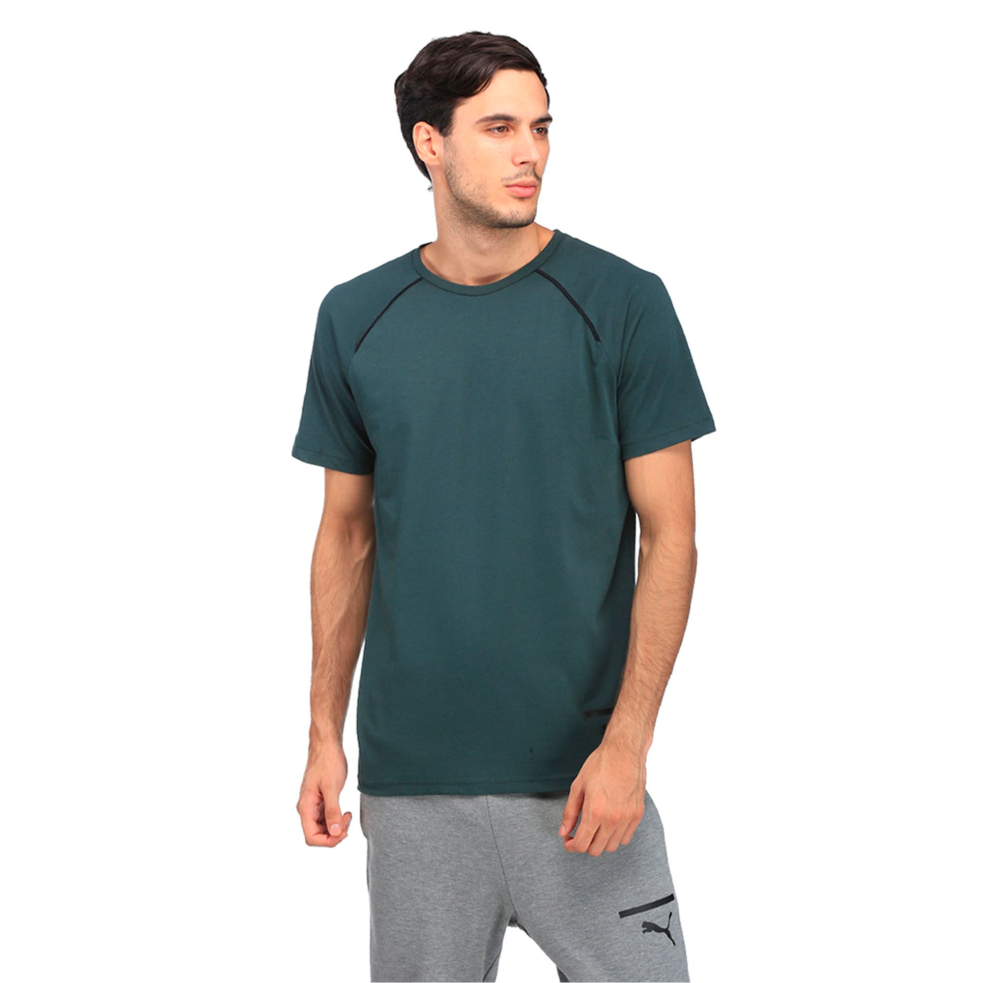 Thumbnail 3 of Evo Core Tee, Green Gables, medium-IND
