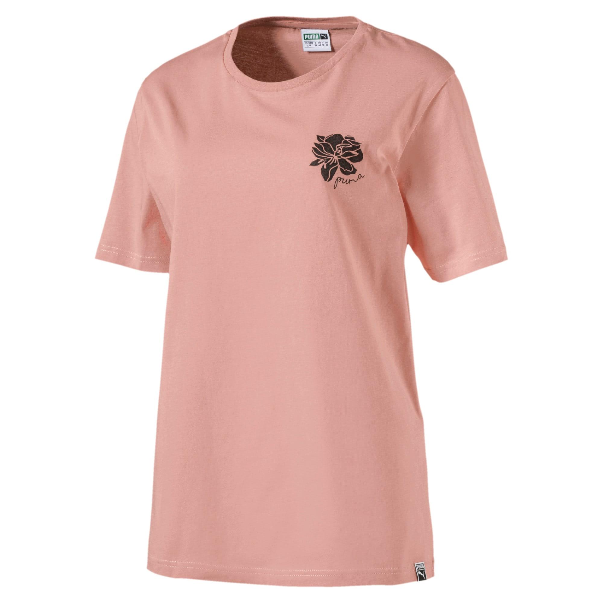 Thumbnail 1 of Women's Graphic T-shirt, Peach Beige, medium-IND